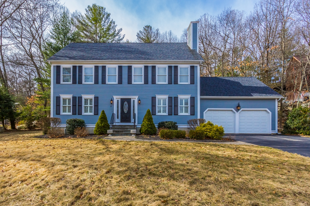 Single Family Home for Sale at Wildwood Estates Colonial 22 Grover Road Ashland, Massachusetts 01721 United States