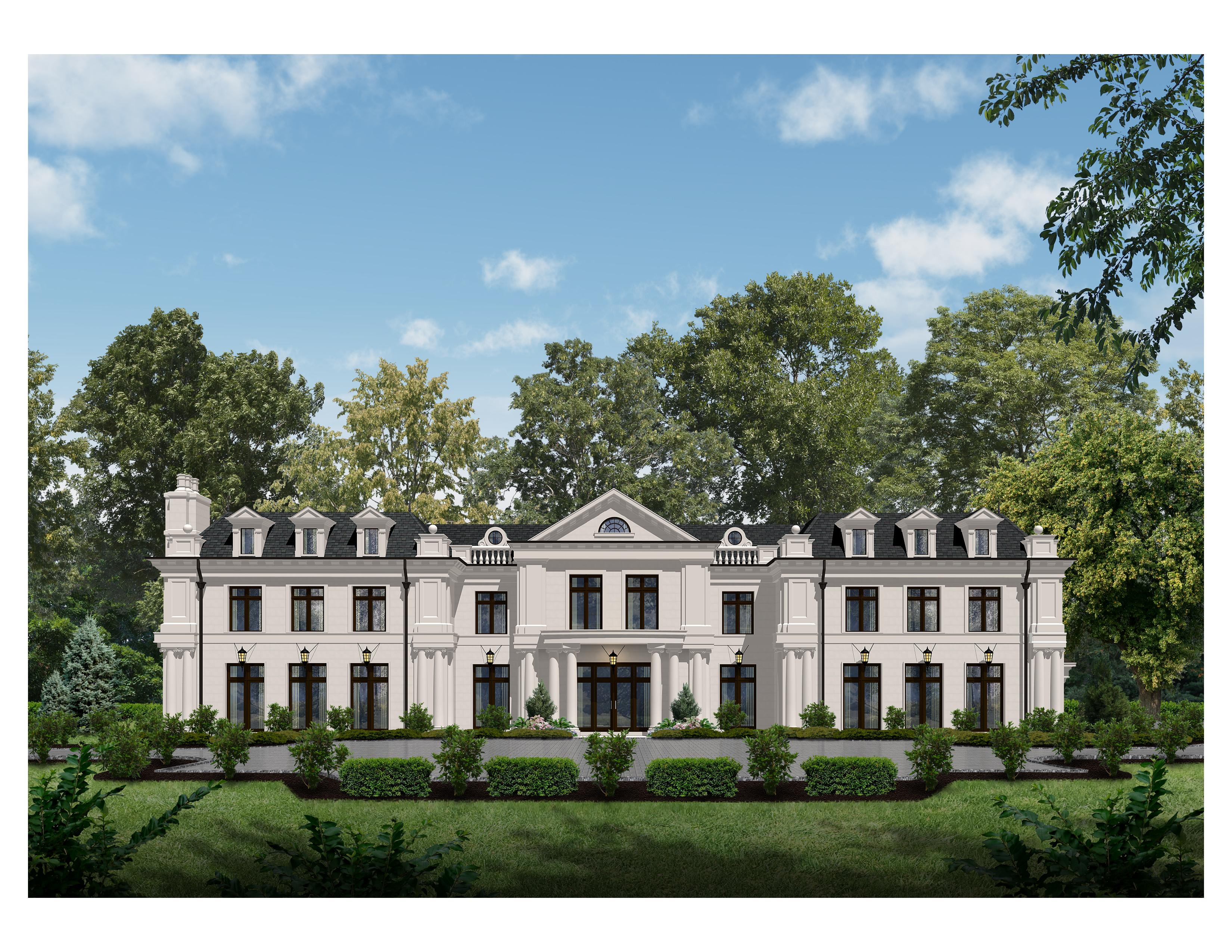 独户住宅 为 销售 在 Opulent Beverly Hills Inspired Estate 23 Stone Tower Dr. 阿尔派恩, 新泽西州 07620 美国