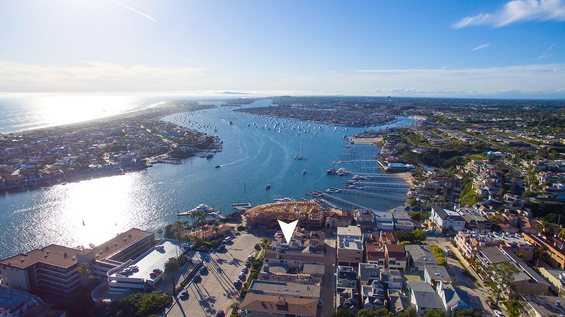 Частный односемейный дом для того Продажа на 2508 Ocean Corona Del Mar, Калифорния, 92625 Соединенные Штаты