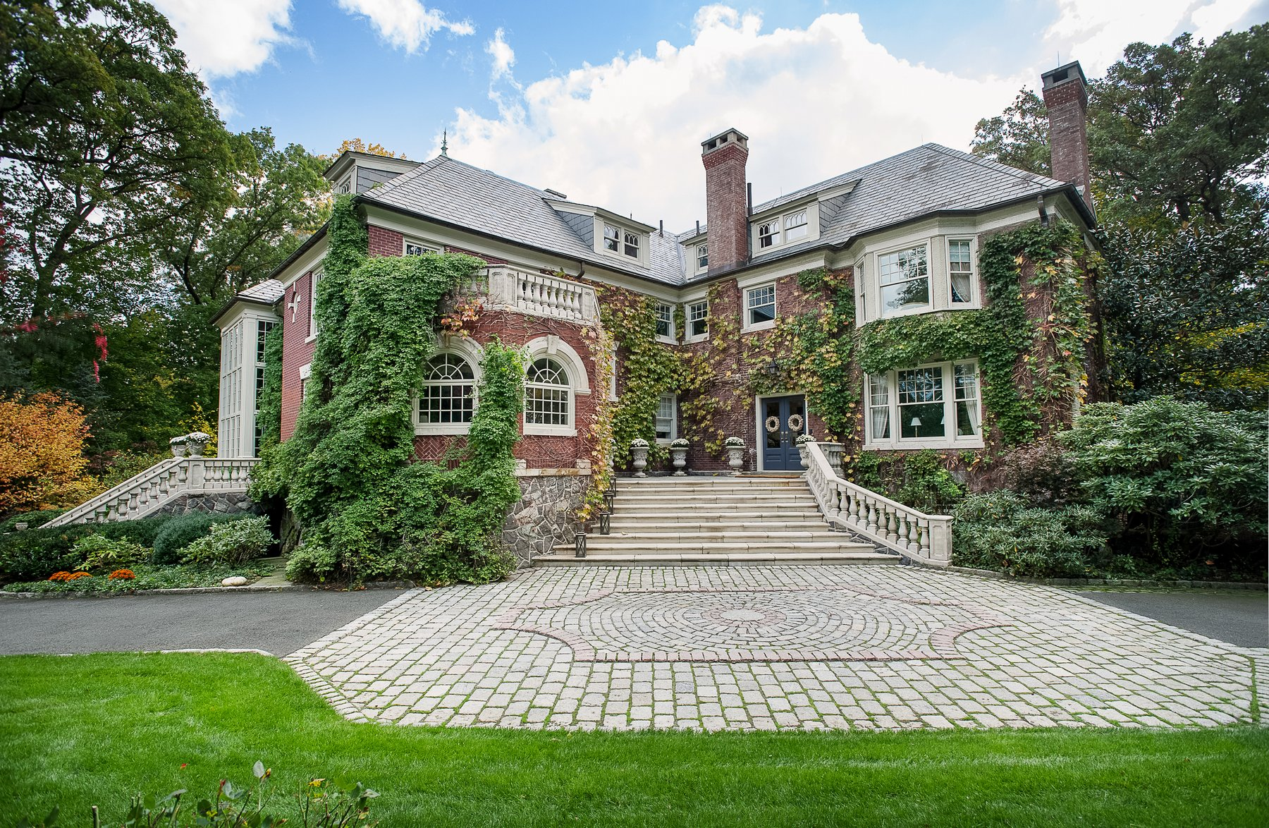 Single Family Home for Sale at Prestigious Manor Home 11 Ridge Road Summit, New Jersey 07901 United States