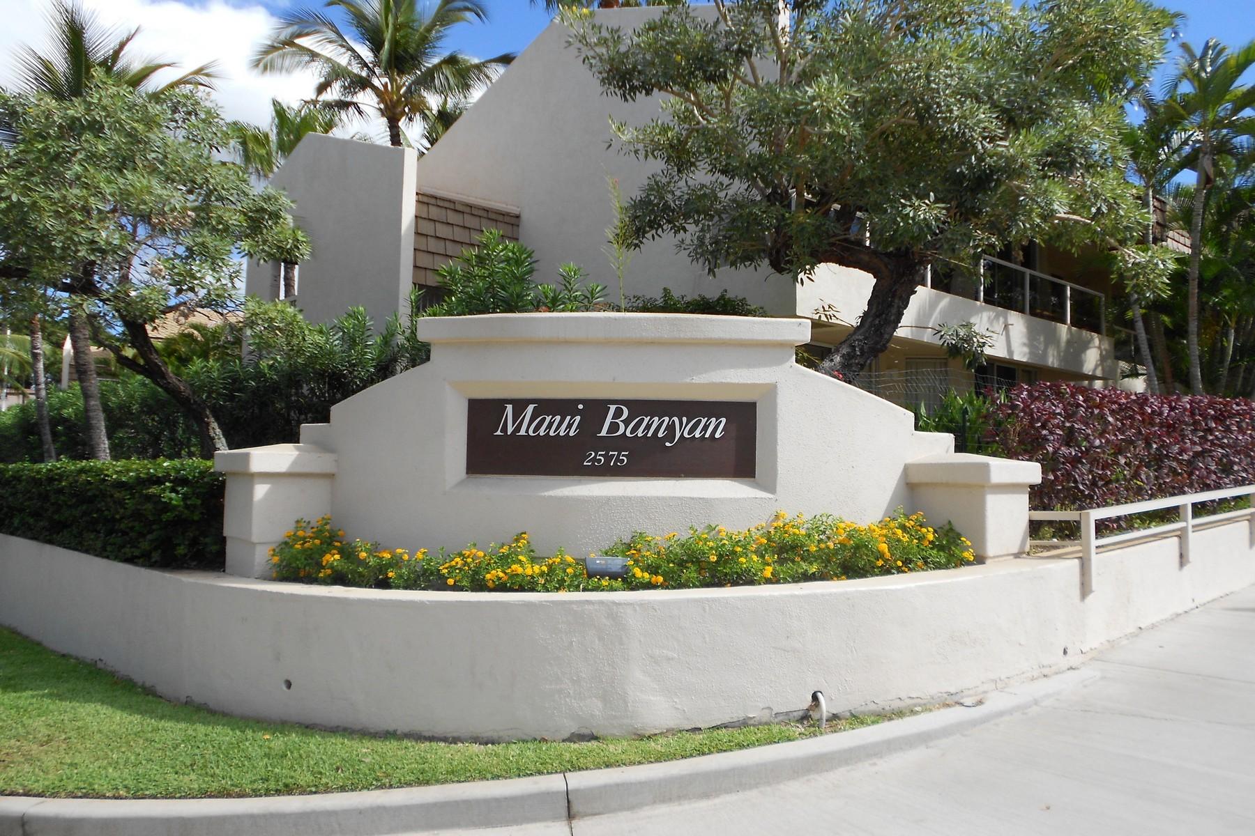 Condomínio para Venda às Maui Banyan H-210 Located Across The Street From White Sand Kamaole III Beach 2575 South Kihei Road, Maui Banyan H-210 Kihei, Havaí, 96753 Estados Unidos
