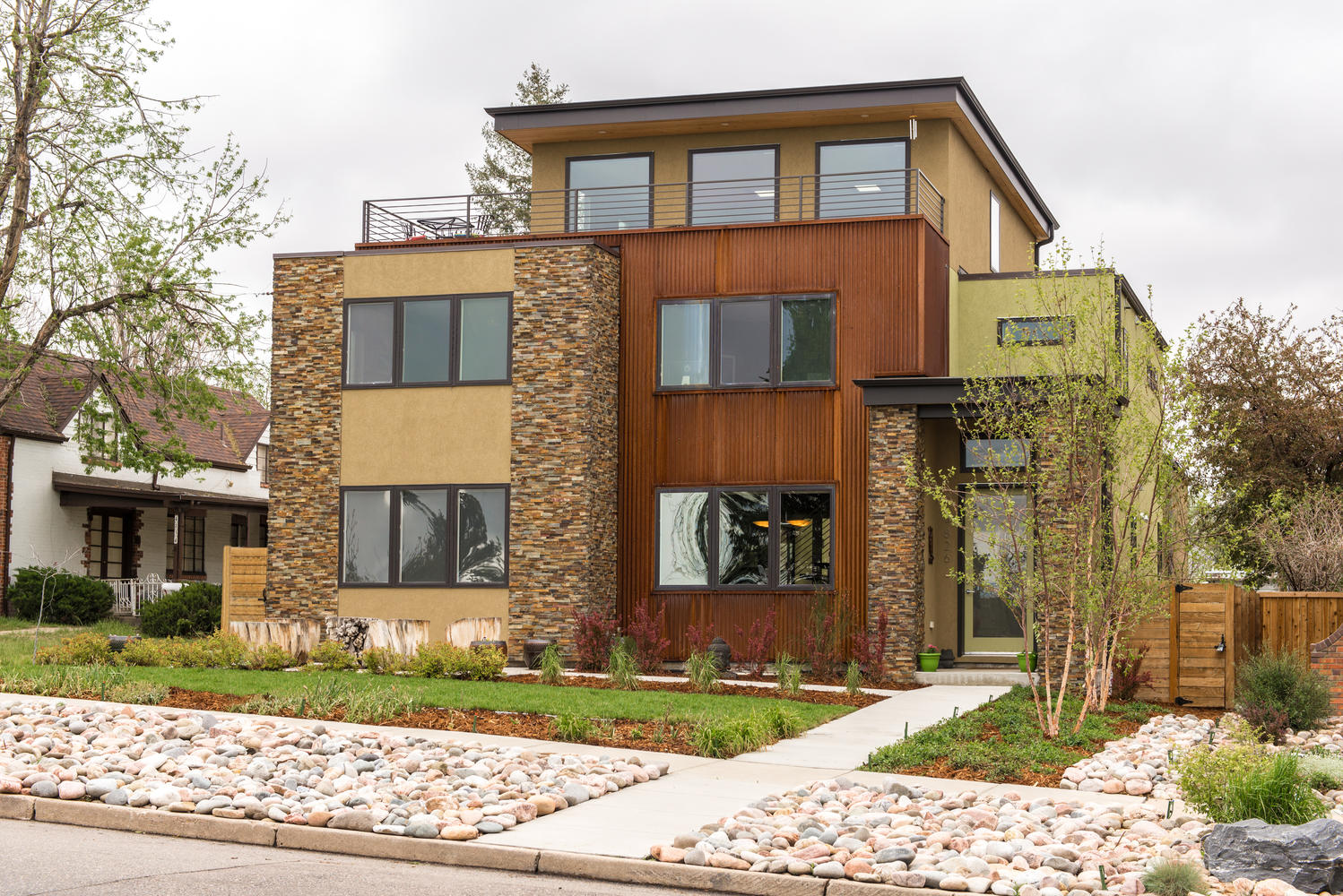 Single Family Home for Sale at Rustic Modern Living in Berkeley 4826 Tennyson Street Berkeley, Denver, Colorado, 80212 United States