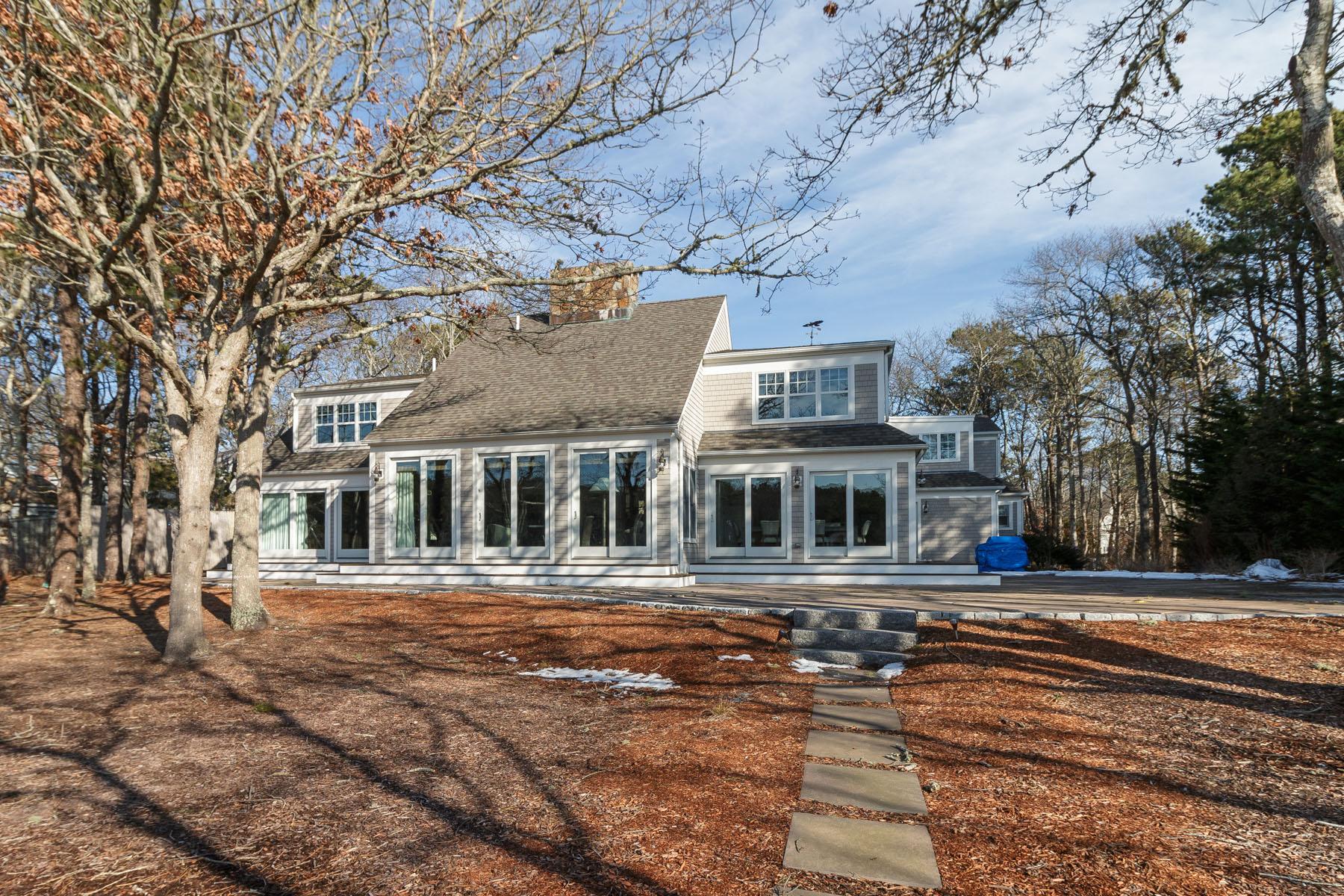 Maison unifamiliale pour l Vente à SPECTACULAR WATERFRONT HOME 27 Keel Way New Seabury, Massachusetts, 02649 États-Unis