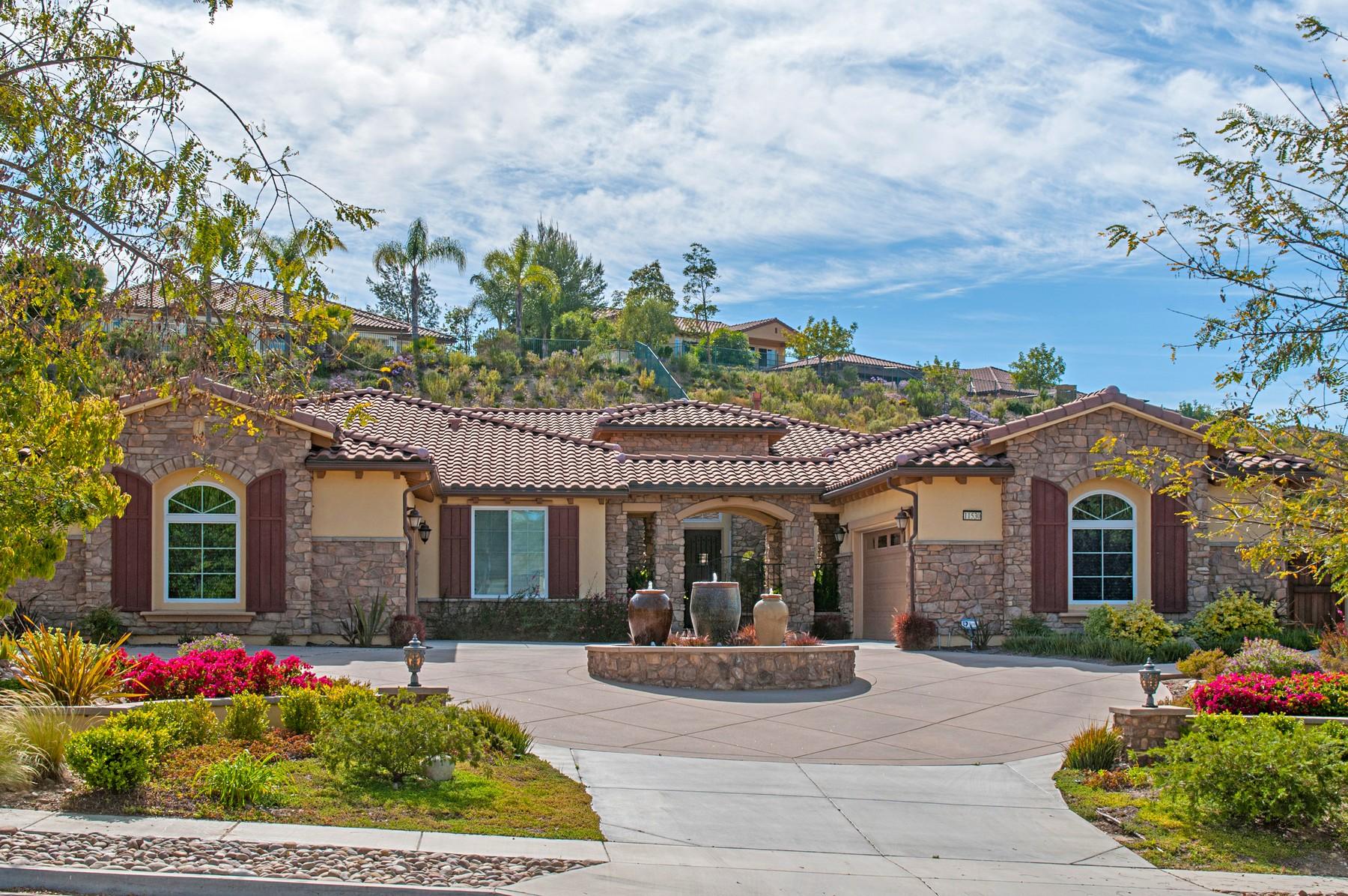 Single Family Home for Sale at 11530 Big Canyon 11530 Big Canyon Lane San Diego, California, 92131 United States