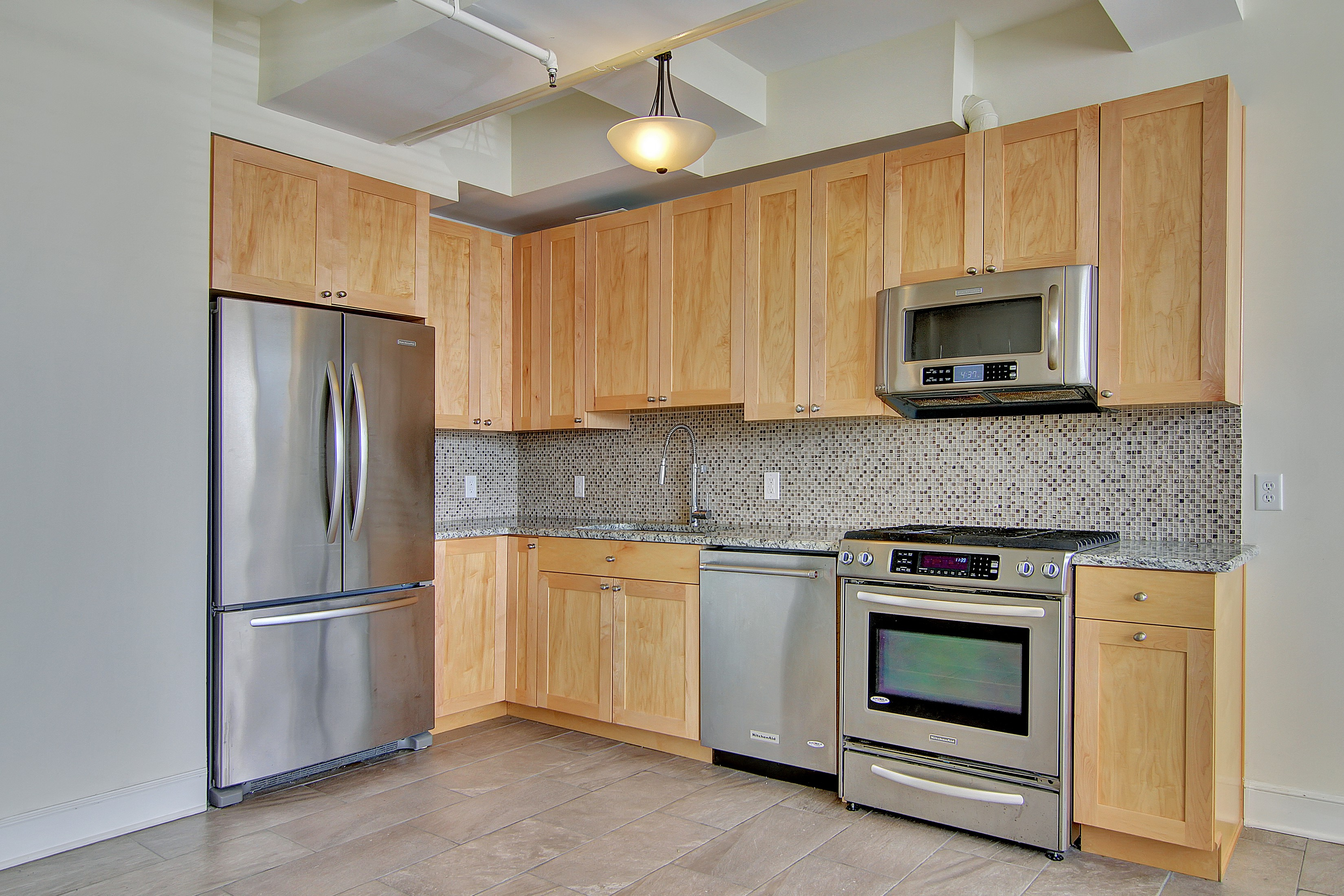 Condominium for Rent at LARGE OPEN CONCEPT ONE BEROOM WITH GREAT NATURAL LIGHT AND CITY VIEWS. PARKING I 300 Communipaw Ave #026 Jersey City, 07304 United States