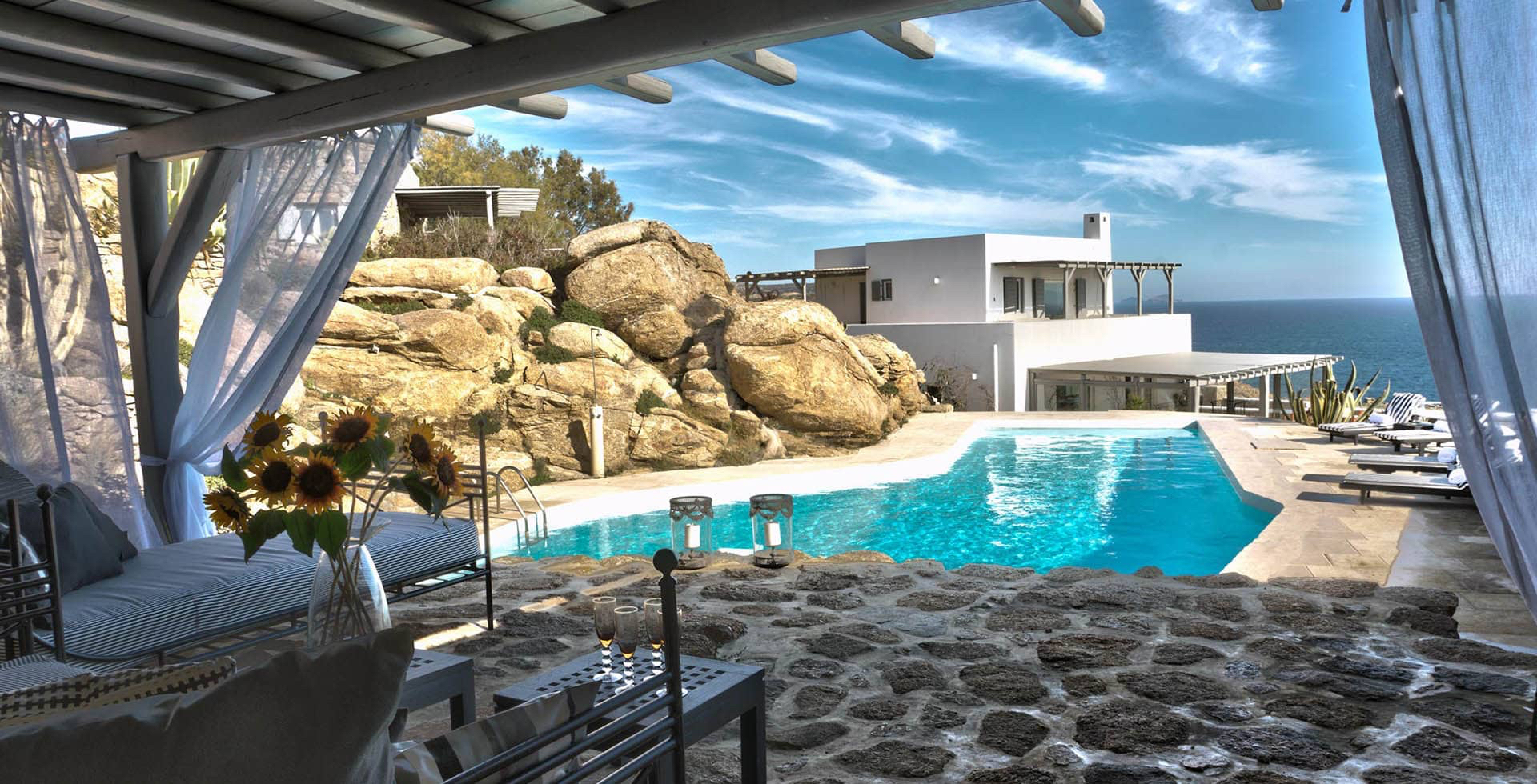Single Family Home for Sale at Chateau Mykonos, Southern Aegean, Greece