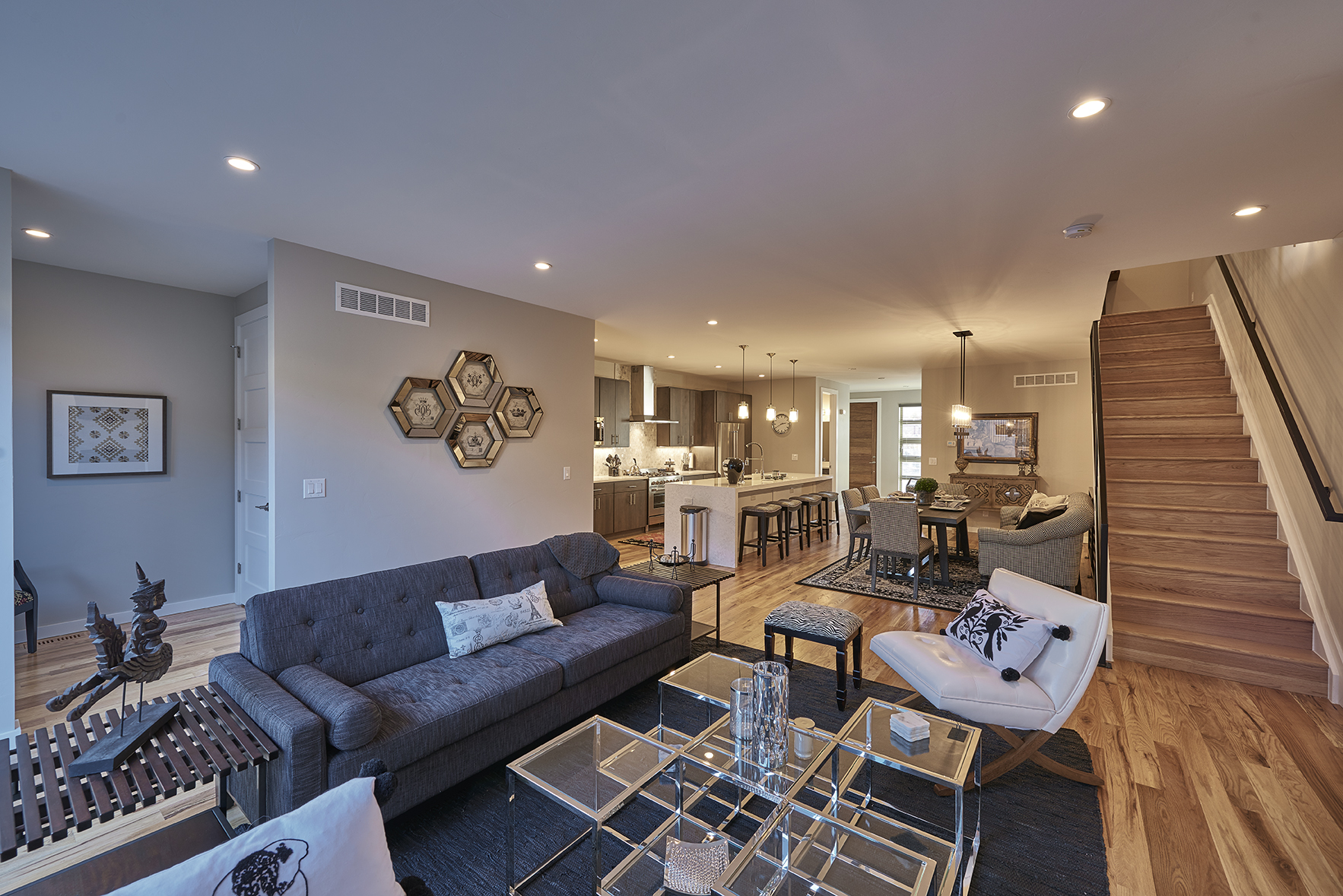 sales property at Spacious, Modern, 3-Story Townhouse in Harvard Gulch/Rosedale