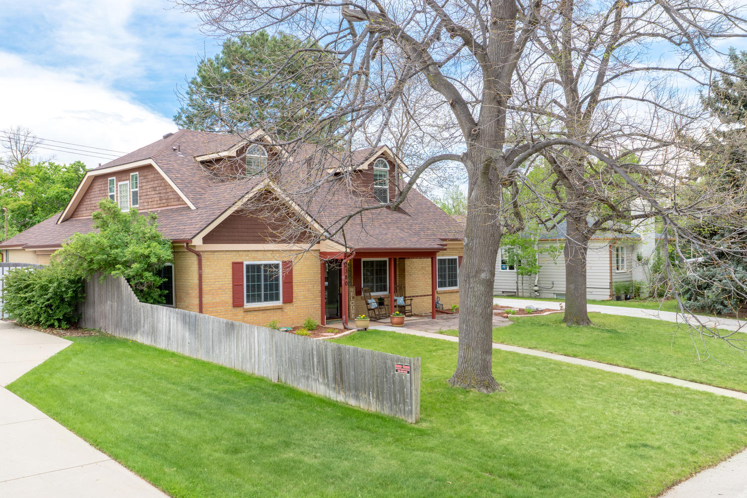 Single Family Home for Sale at Charming 2-story in the heart of University Park 2380 S Madison St Denver, Colorado, 80210 United States