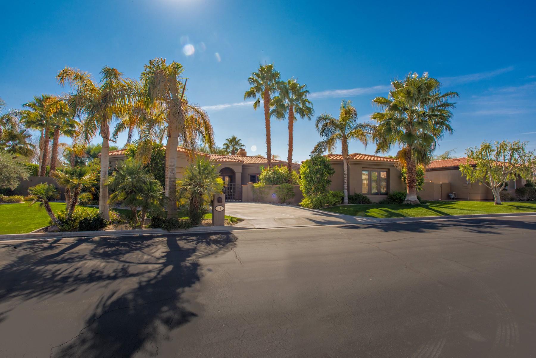 独户住宅 为 销售 在 19 Florence Lane Palm Desert, 加利福尼亚州, 92211 美国