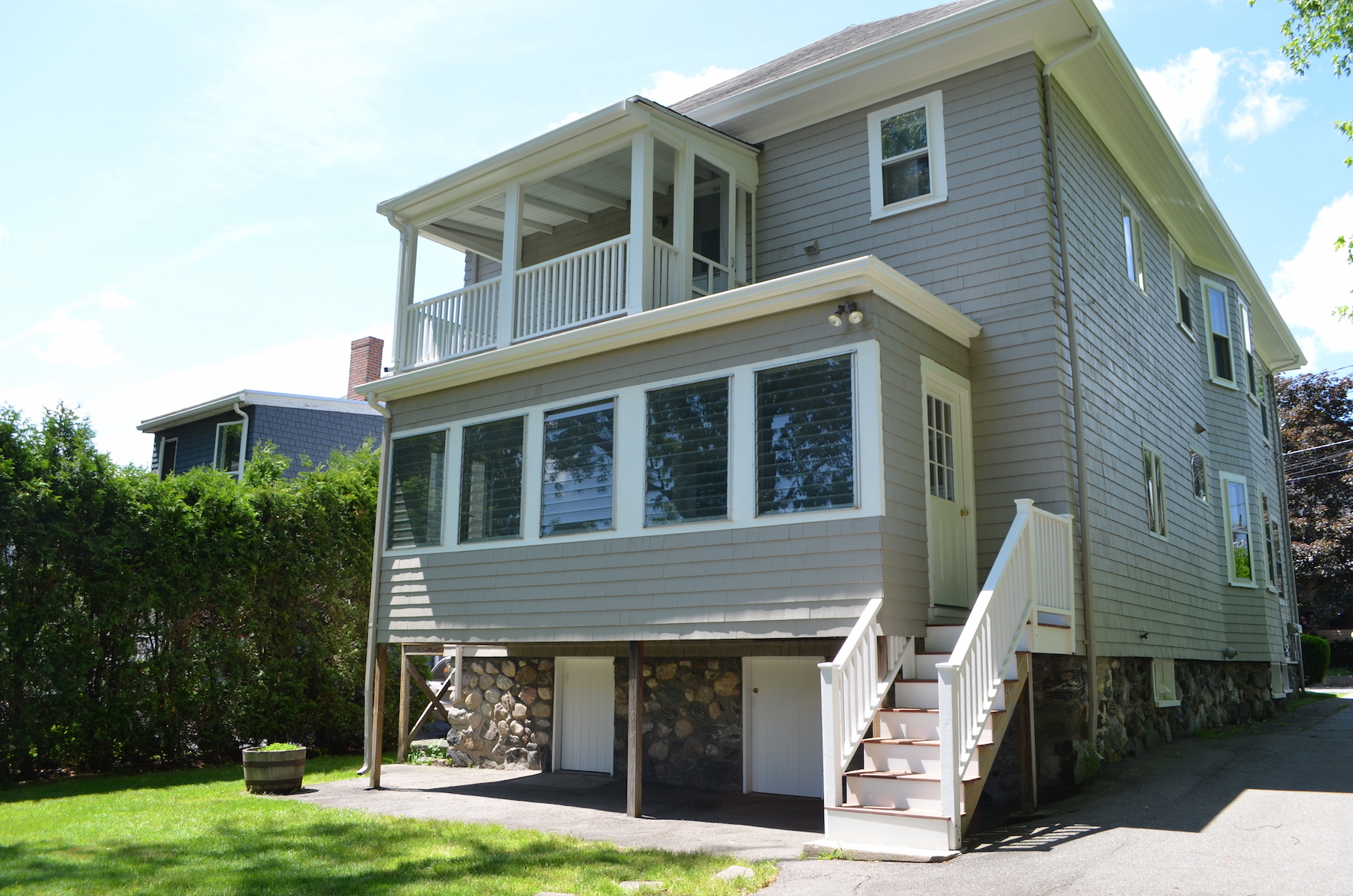 Multi-Family Home for Rent at 16 Water St Unit 1 Winchester, MA 16 Water Street Unit 1 Winchester, Massachusetts 01890 United States