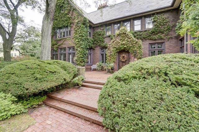 Single Family Home for Sale at Magnificent Tudor Mansion and Coach House 147 Dempster Street Evanston, 60201 United States