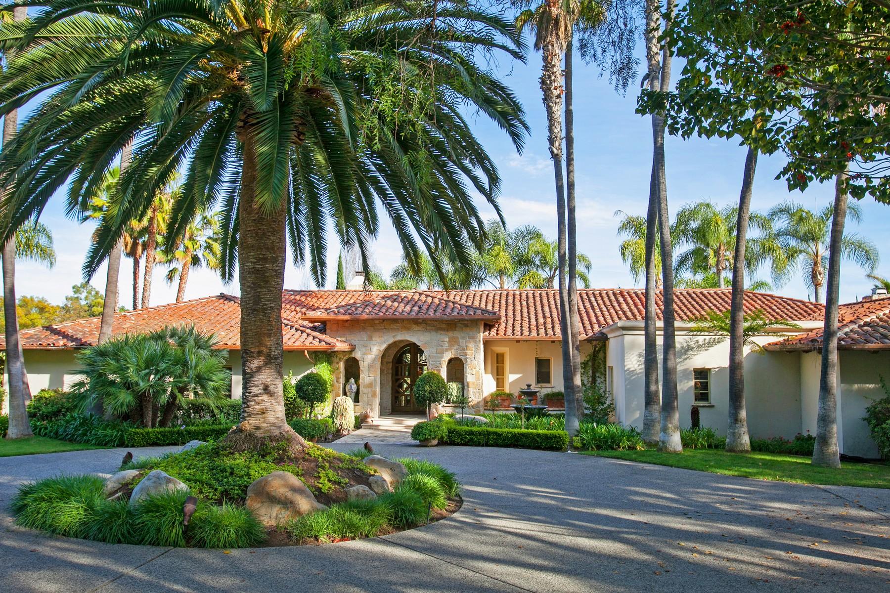 Single Family Home for Sale at 7045 El Vuelo Del Este Rancho Santa Fe, California 92067 United States