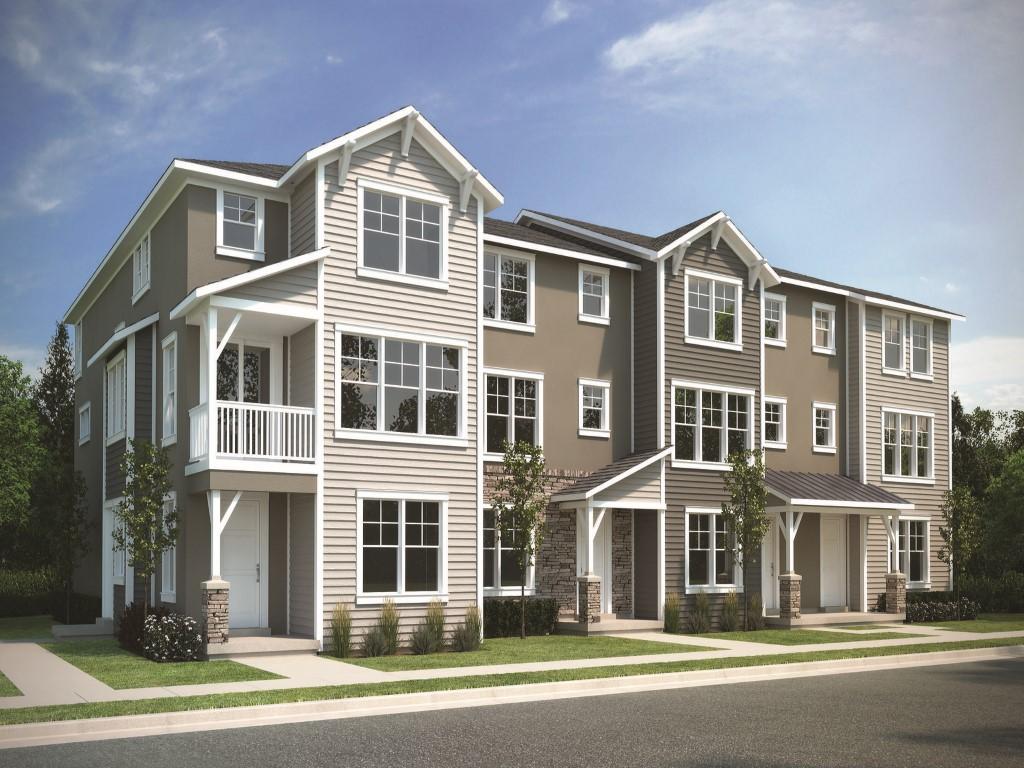 联栋屋 为 销售 在 New Wasatch Springs Townhouse Close to Patk City 1038 W Cattail Ct #F1 希伯城, 犹他州, 84032 美国