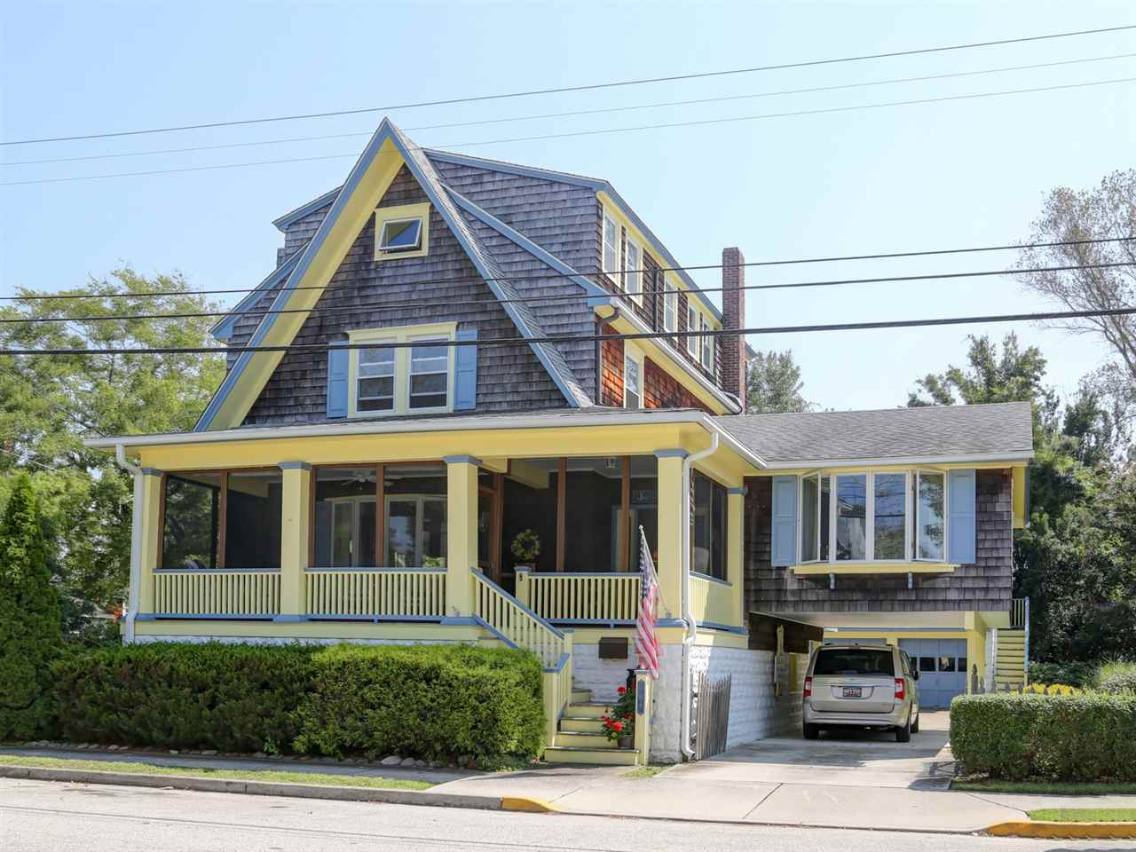 Single Family Home for Sale at 704 Benton 704 Benton Avenue Cape May, New Jersey 08204 United States