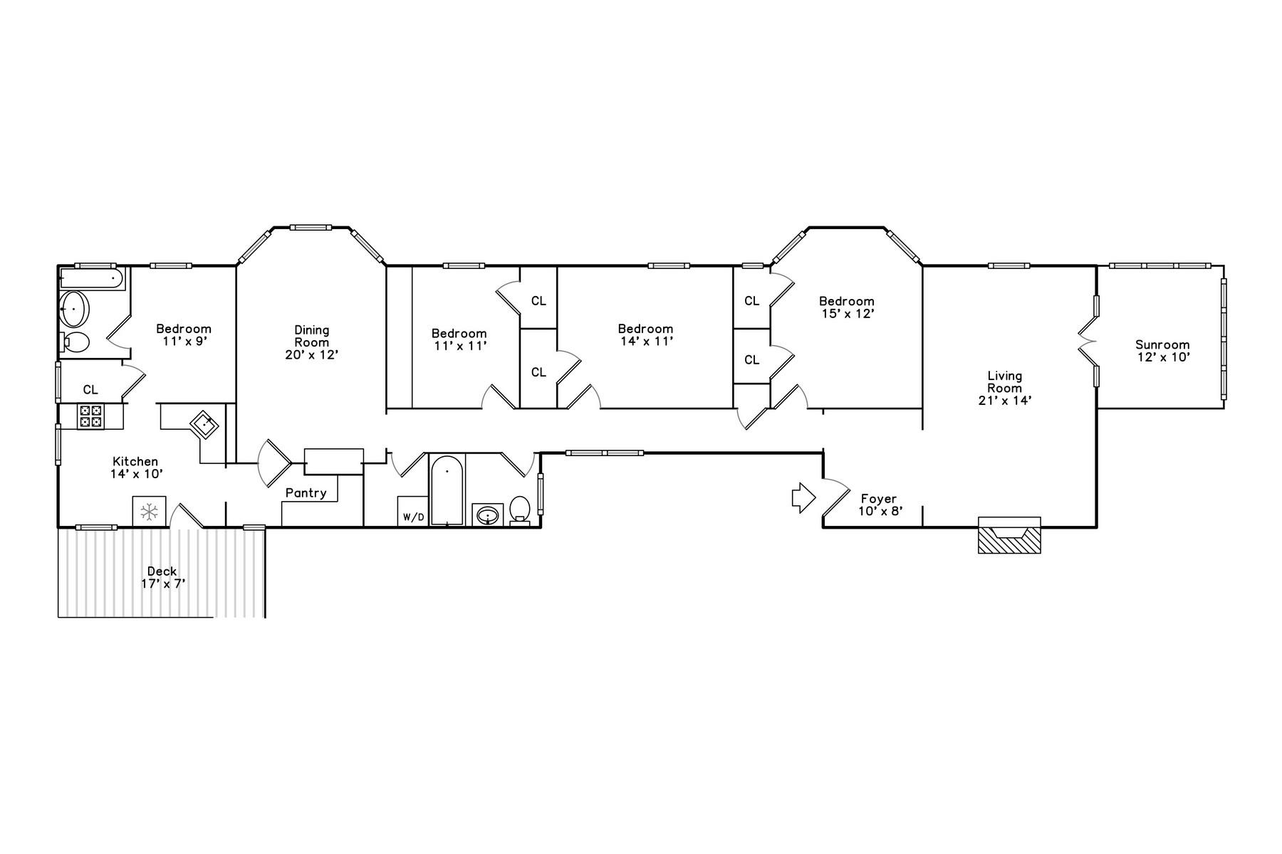 Single Family Home for Sale at Spacious Vintage Evanson Condo 1633 Hinman Avenue Unit 3S Evanston, Illinois 60201 United States