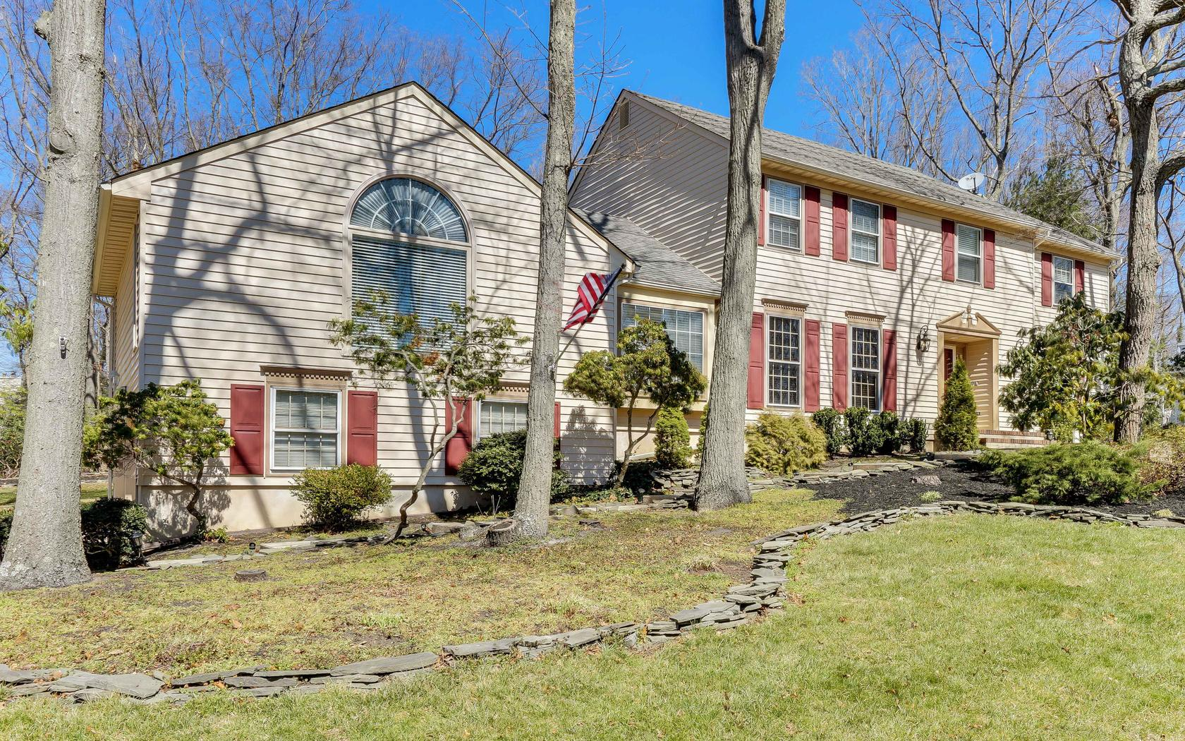 Single Family Home for Sale at Spacious Manasquan Colonial 1530 Toboggan Run Manasquan, New Jersey 08736 United States
