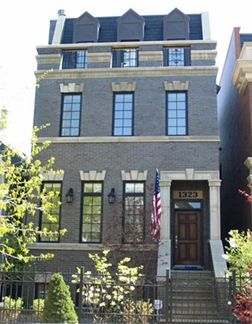 Частный односемейный дом для того Продажа на Beautiful Brick and Limestone Single Family Home in Lakeview! 1323 W Melrose Street Lakeview, Chicago, Иллинойс, 60657 Соединенные Штаты