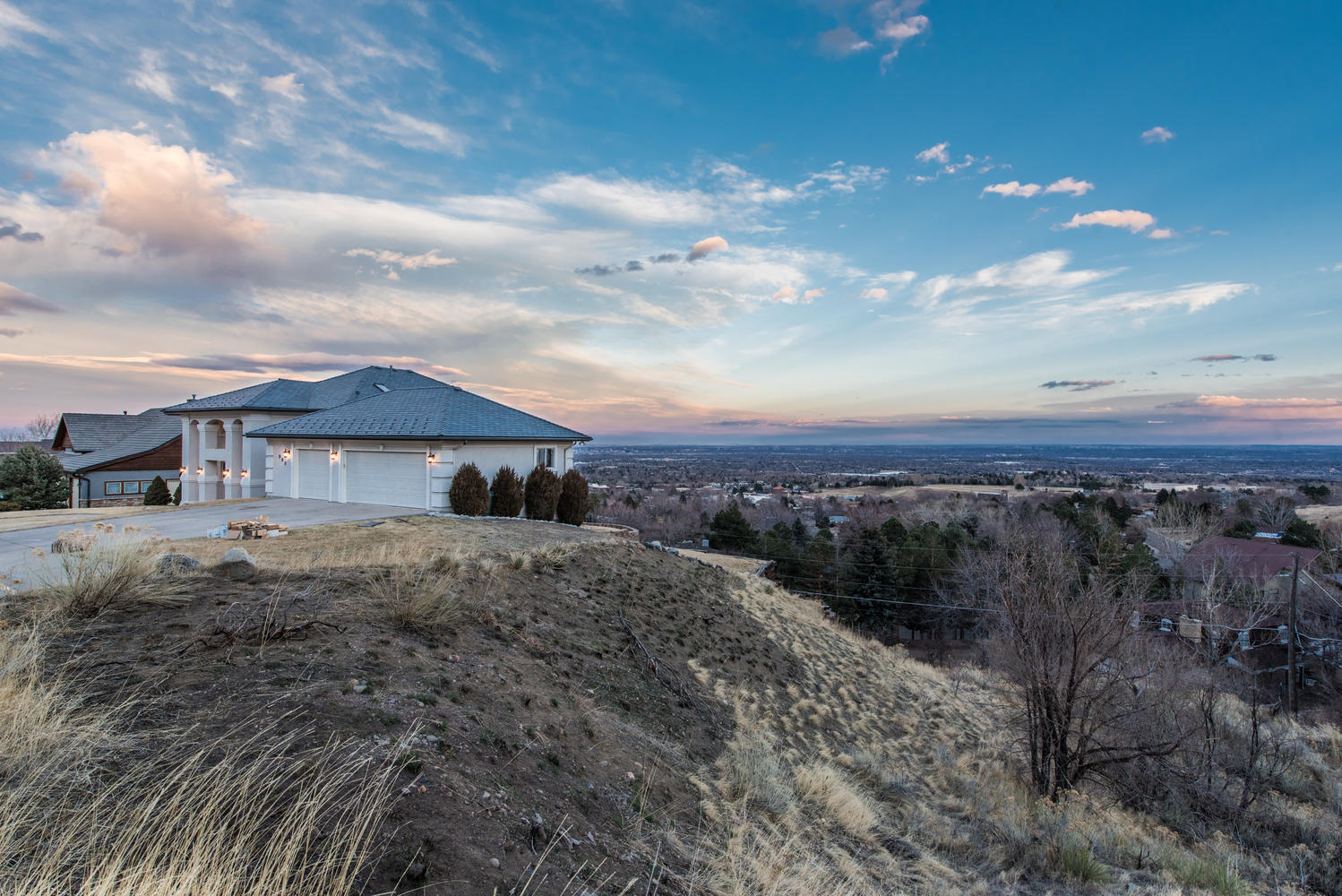 Single Family Home for Sale at Magnificent views in every direction! 980 S Coors Drive Lakewood, Colorado, 80228 United States