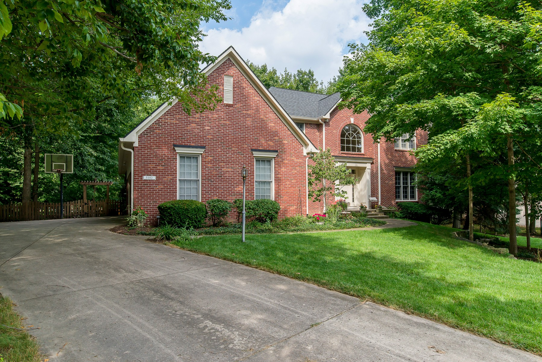 Single Family Home for Sale at Charming and Elegant Carmel Home 5102 Hummingbird Circle Carmel, Indiana 46033 United States