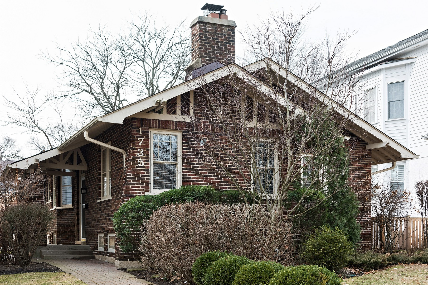 Single Family Home for Sale at Brick Bungalow 1735 Washington Ave Wilmette, Illinois, 60091 United States