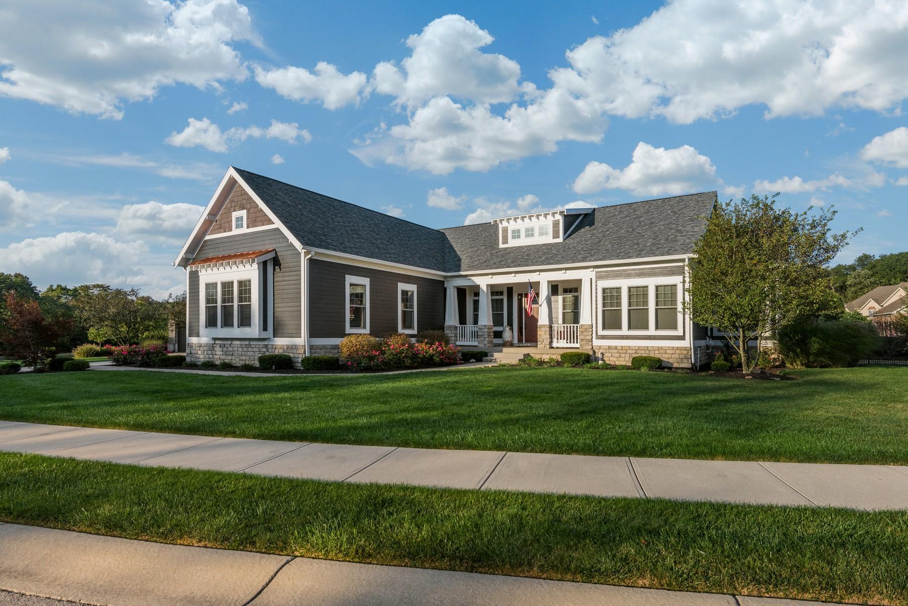 Single Family Home for Sale at Elegant Ranch Home in Carmel 13211 Carmichael Lane Carmel, Indiana 46032 United States