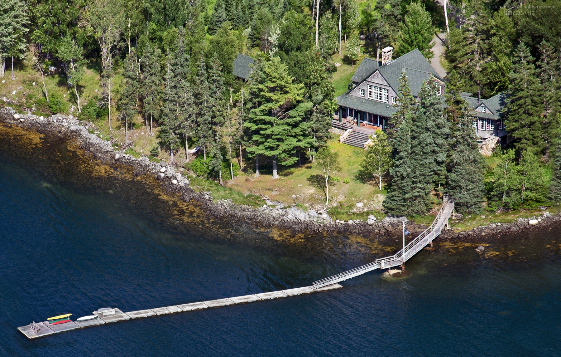 Single Family Home for Sale at Avalon 468 Reach Road Deer Isle, Maine, 04627 United States