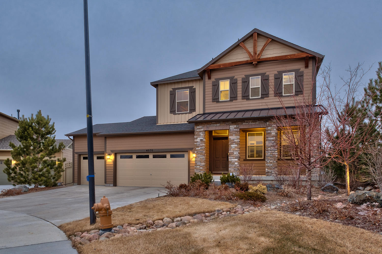 Single Family Home for Sale at 4070 Burnham Pl Castle Rock, Colorado, 80104 United States