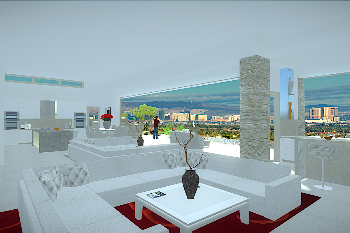 sales property at Bellatrix   New Modern Single Story with Infinity Pool & Strip Views