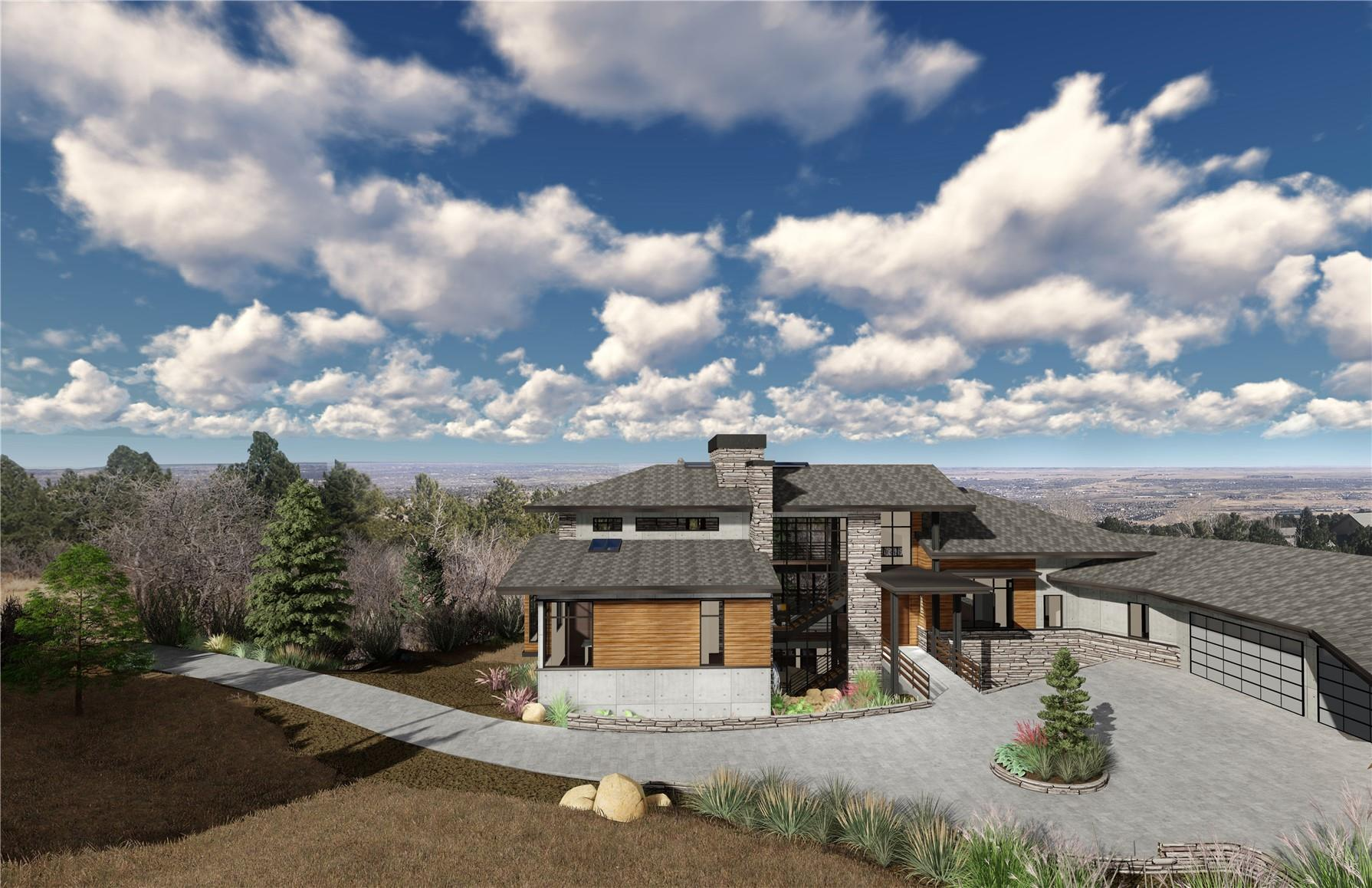 Single Family Home for Active at To be built home in Broadmoor Resort Community 4646 Stone Manor Heights Colorado Springs, Colorado 80906 United States