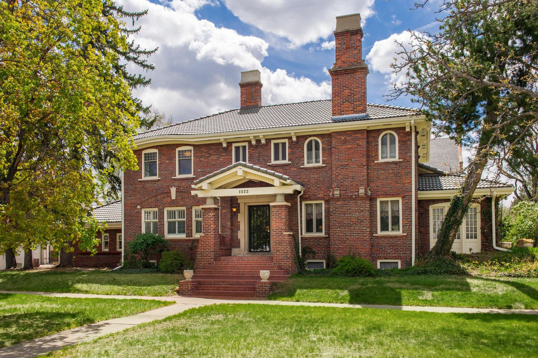 Casa Unifamiliar por un Venta en Stately Country Club Home 1200 East 3rd Avenue Denver, Colorado 80218 Estados Unidos