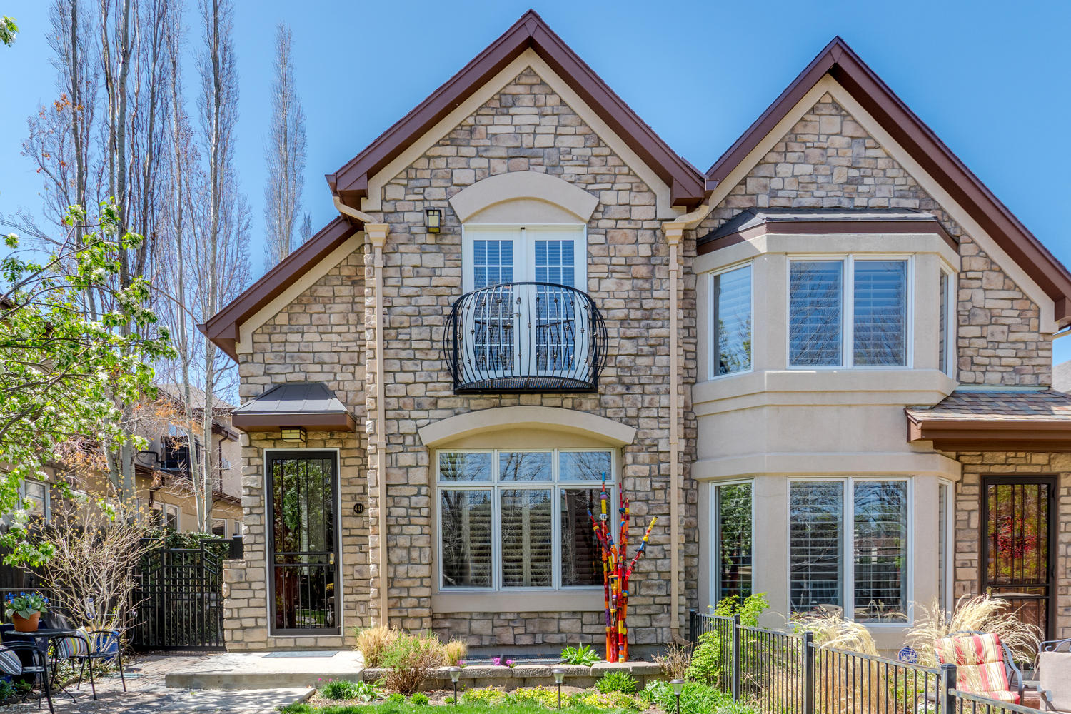 Single Family Home for Sale at Exceptional Townhome in Cherry Creek North! 441 Jackson Street Denver, Colorado, 80206 United States