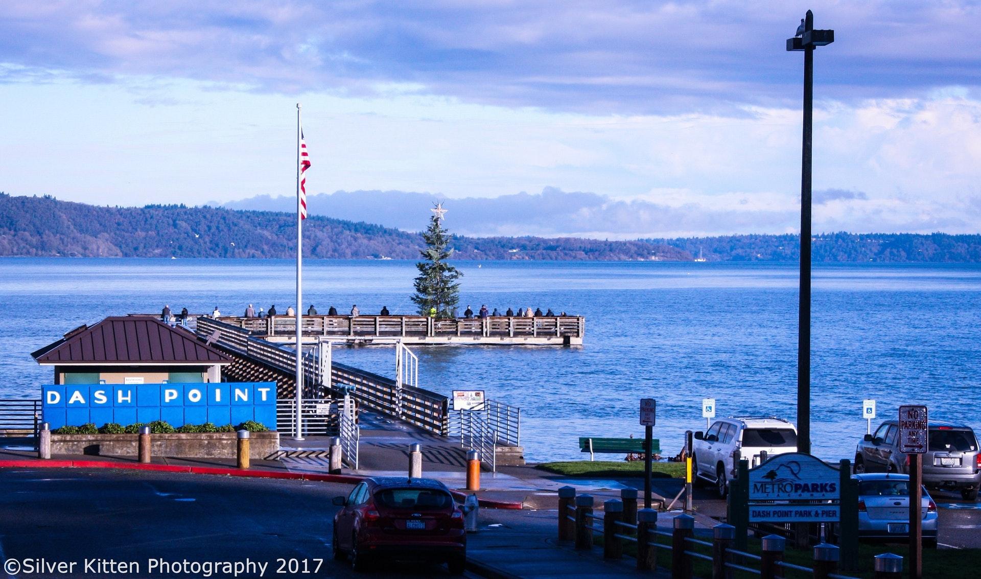 Частный односемейный дом для того Продажа на Luxury Duplex in Waterfront Community! 1412 Beach Dr NE #A&#B Tacoma, Вашингтон 98422 Соединенные Штаты