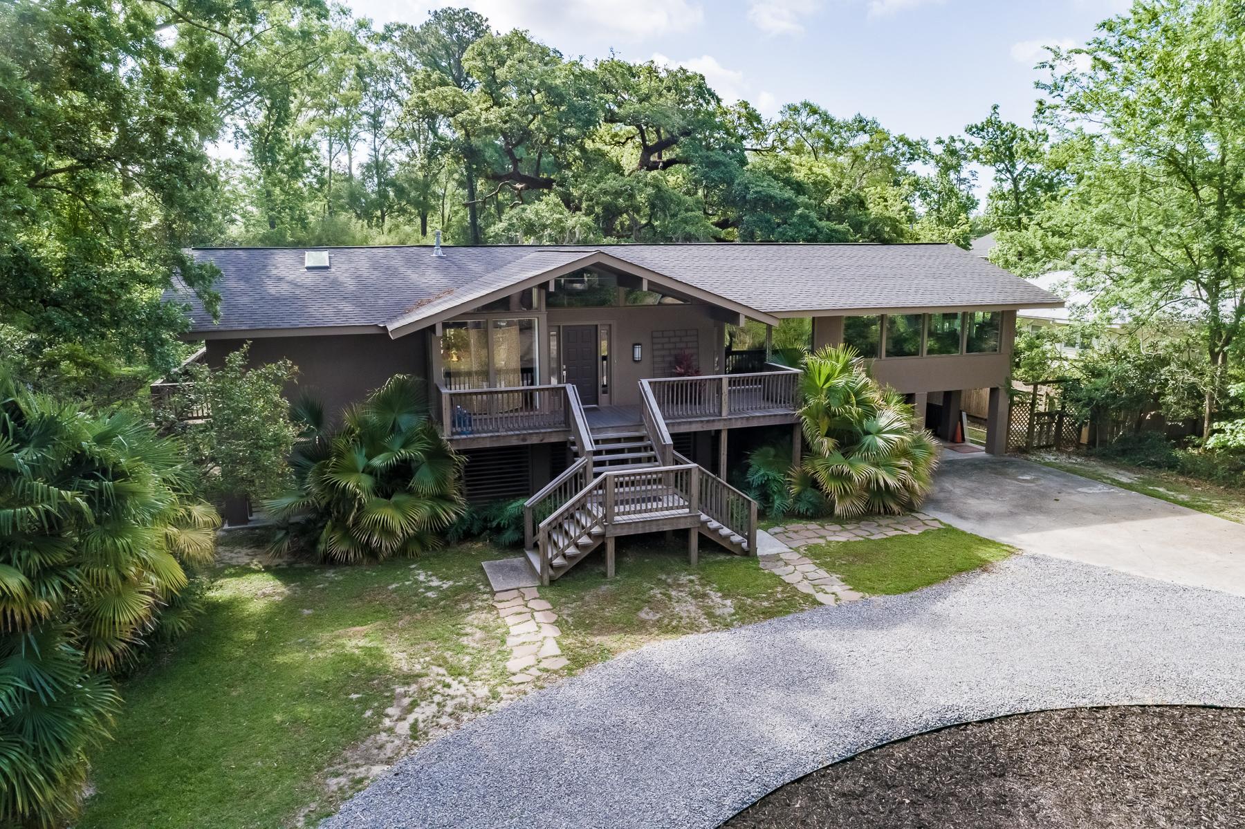Tek Ailelik Ev için Satış at Chic Mid-Century Modern 315 Carondelet St. Mandeville, Louisiana, 70448 Amerika Birleşik Devletleri