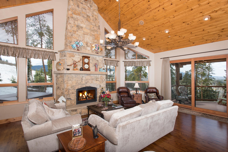 Maison unifamiliale pour l Vente à Mountain View Estates 639 Gold Run Road Breckenridge, Colorado, 80424 États-Unis