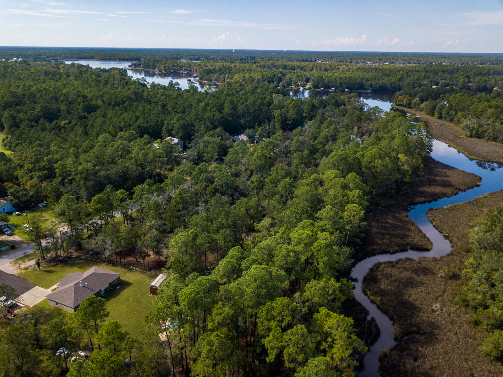 Land for Sale at Waterfront Lot on Mallet Bayou Reach 10 Bay Grove Freeport, Florida 32439 United States