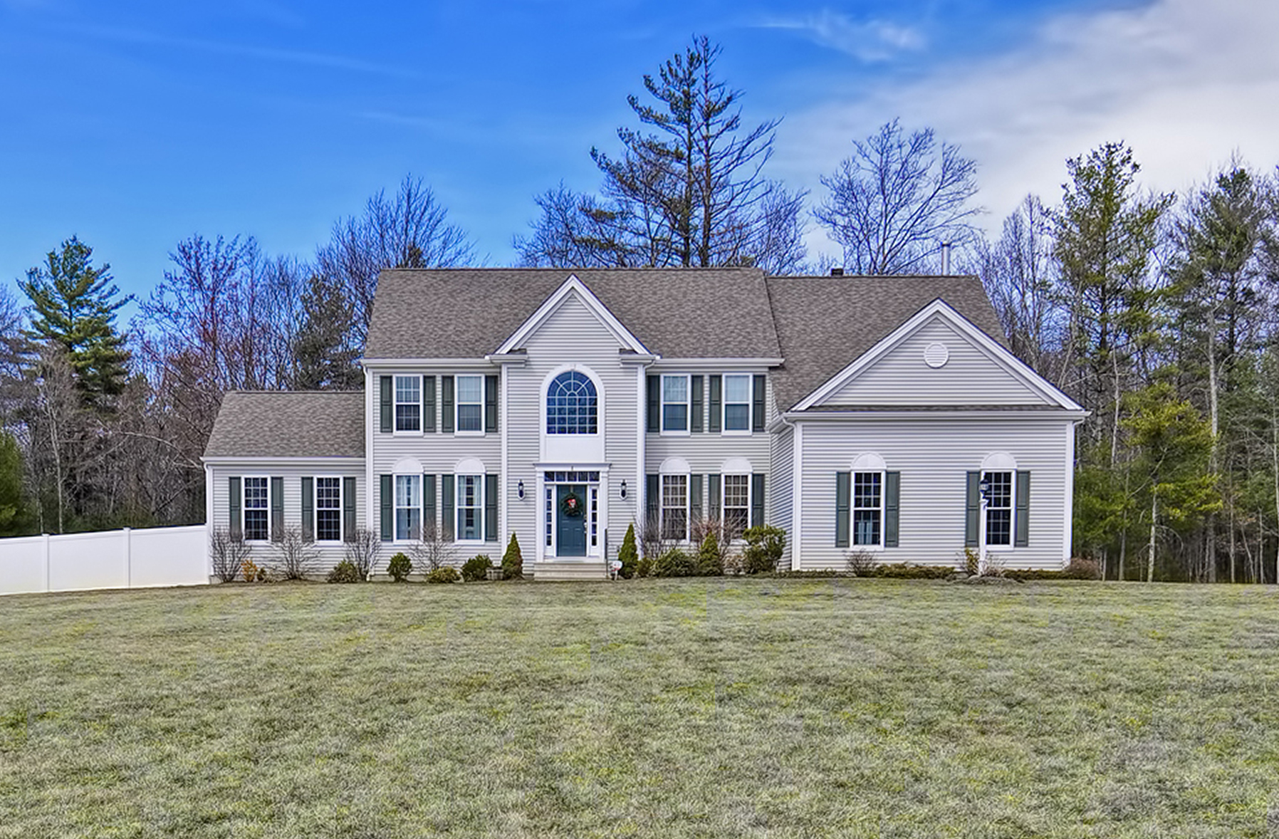 Single Family Home for Sale at Expansive Colonial 8 Francis Drive Upton, Massachusetts 01568 United States
