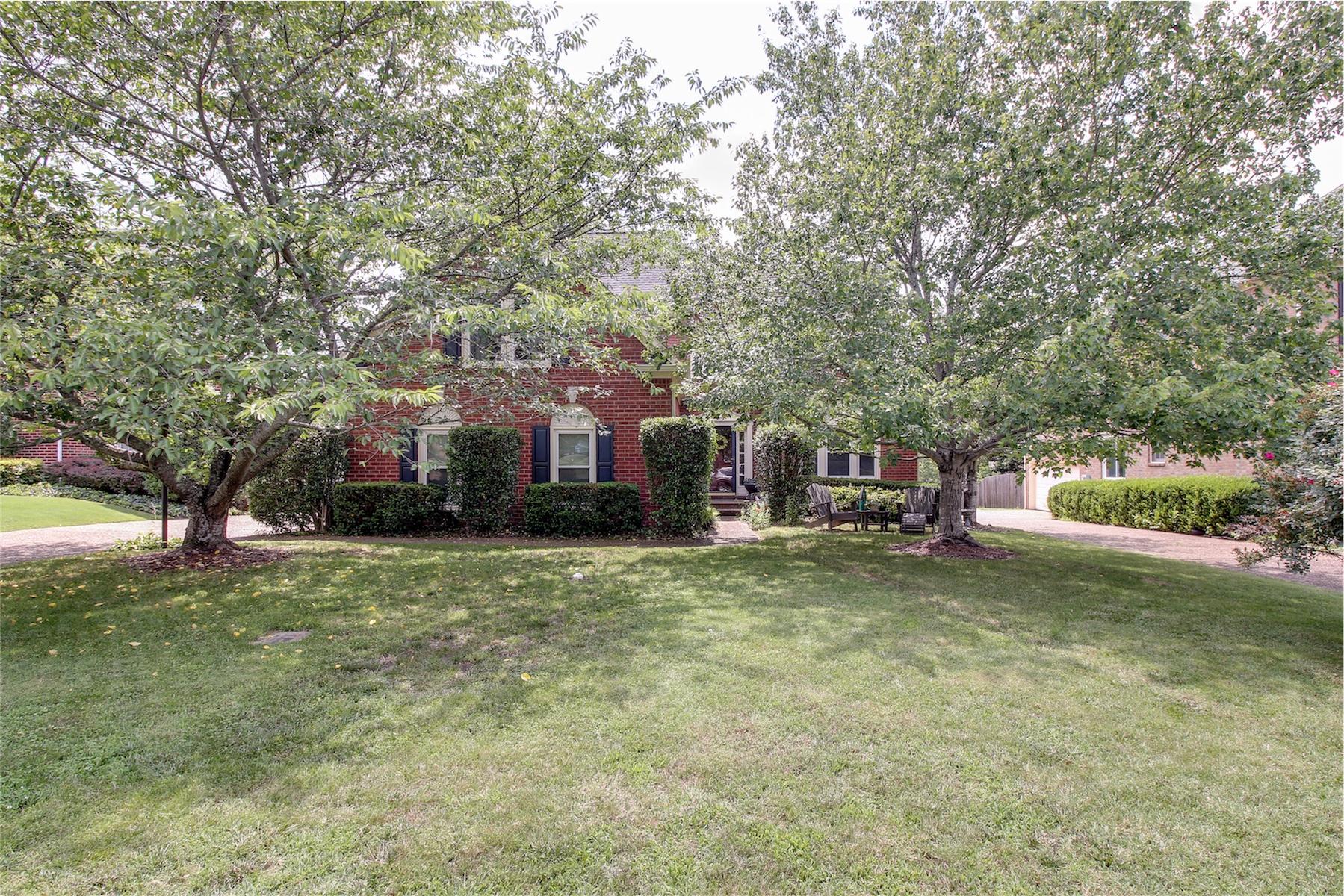 獨棟家庭住宅 為 出售 在 Classic West Meade Ranch 521 Ridgestone Drive Franklin, 田納西州, 37064 South, 美國
