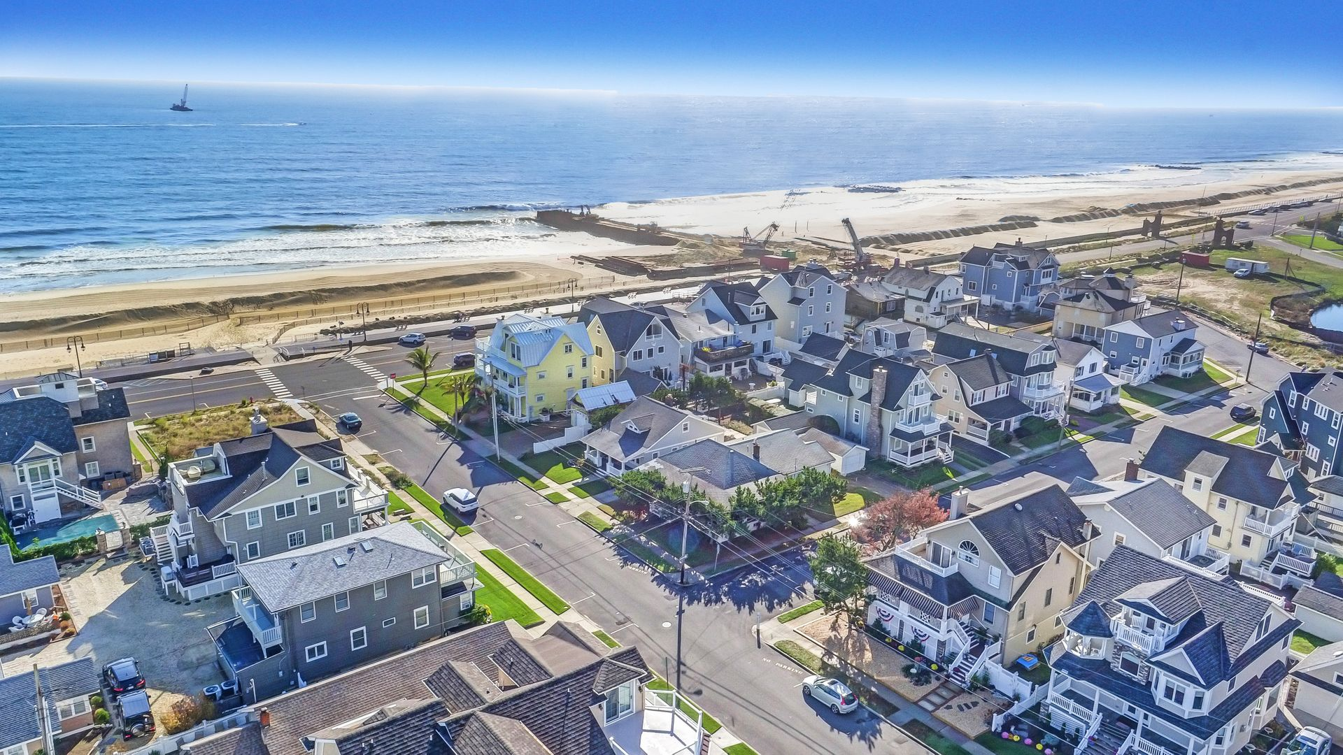 Single Family Home for Sale at Located Near Ocean, Beach, Boardwalk 103 20th Ave Belmar, New Jersey 07719 United States