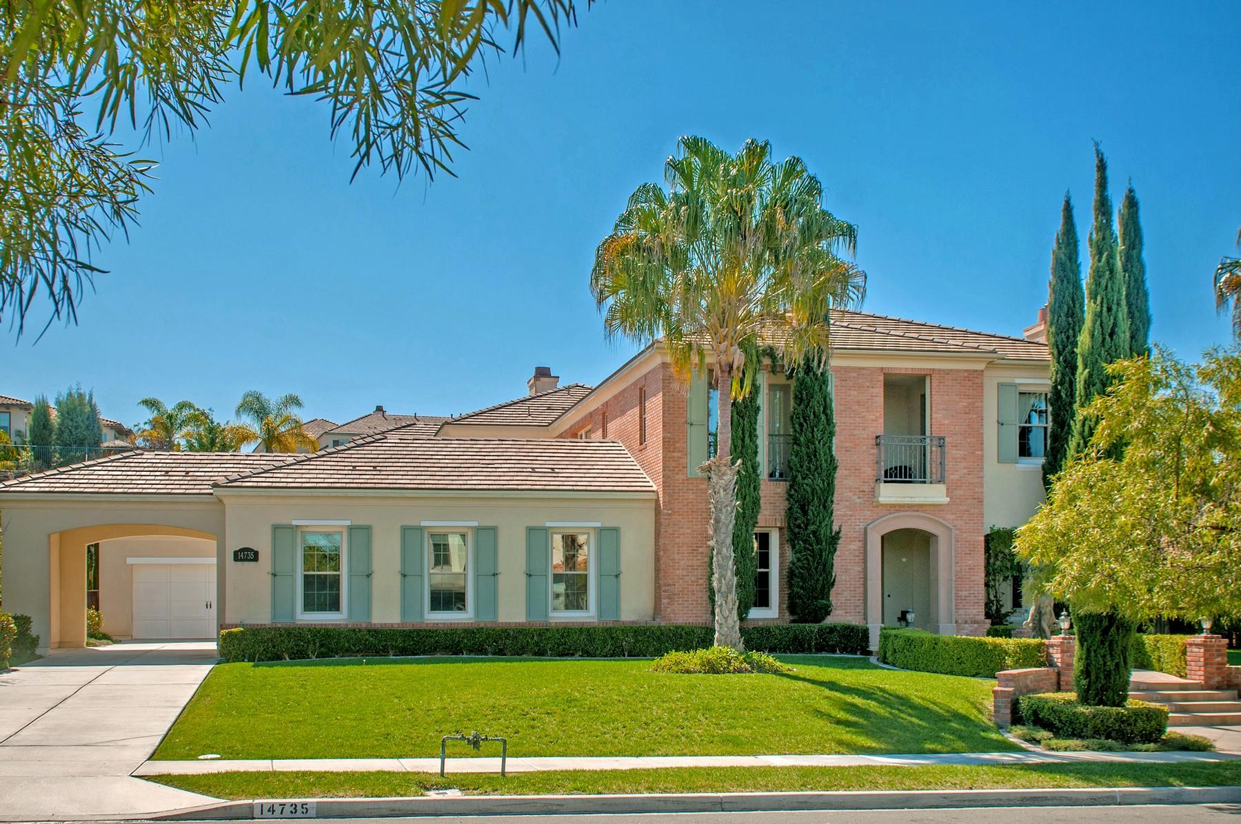 Maison unifamiliale pour l Vente à 14735 Whispering Ridge San Diego, Californie, 92131 États-Unis