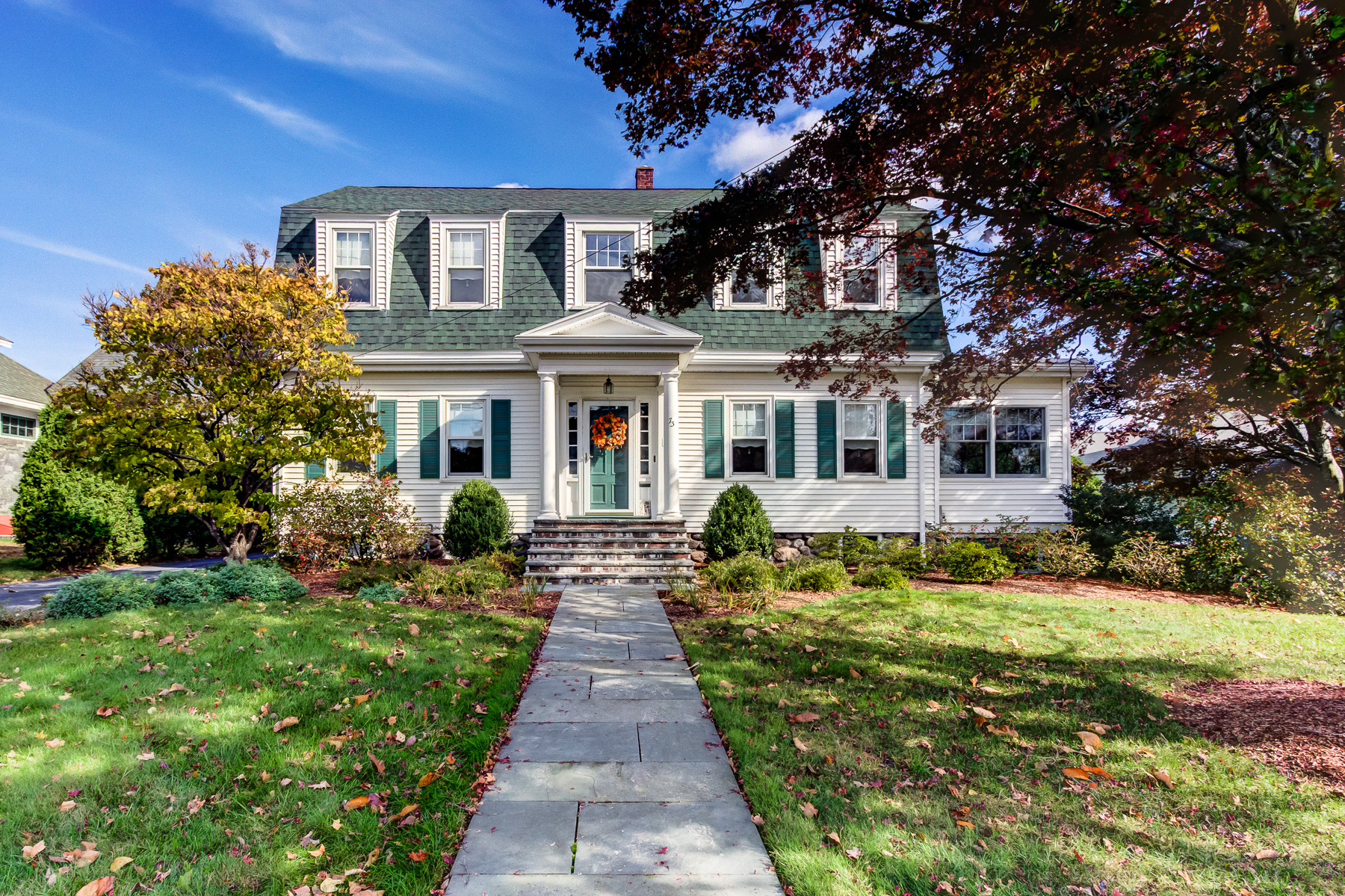 Single Family Home for Sale at Charming Gambrel Home 73 Congress Street Milford, Massachusetts 01757 United States