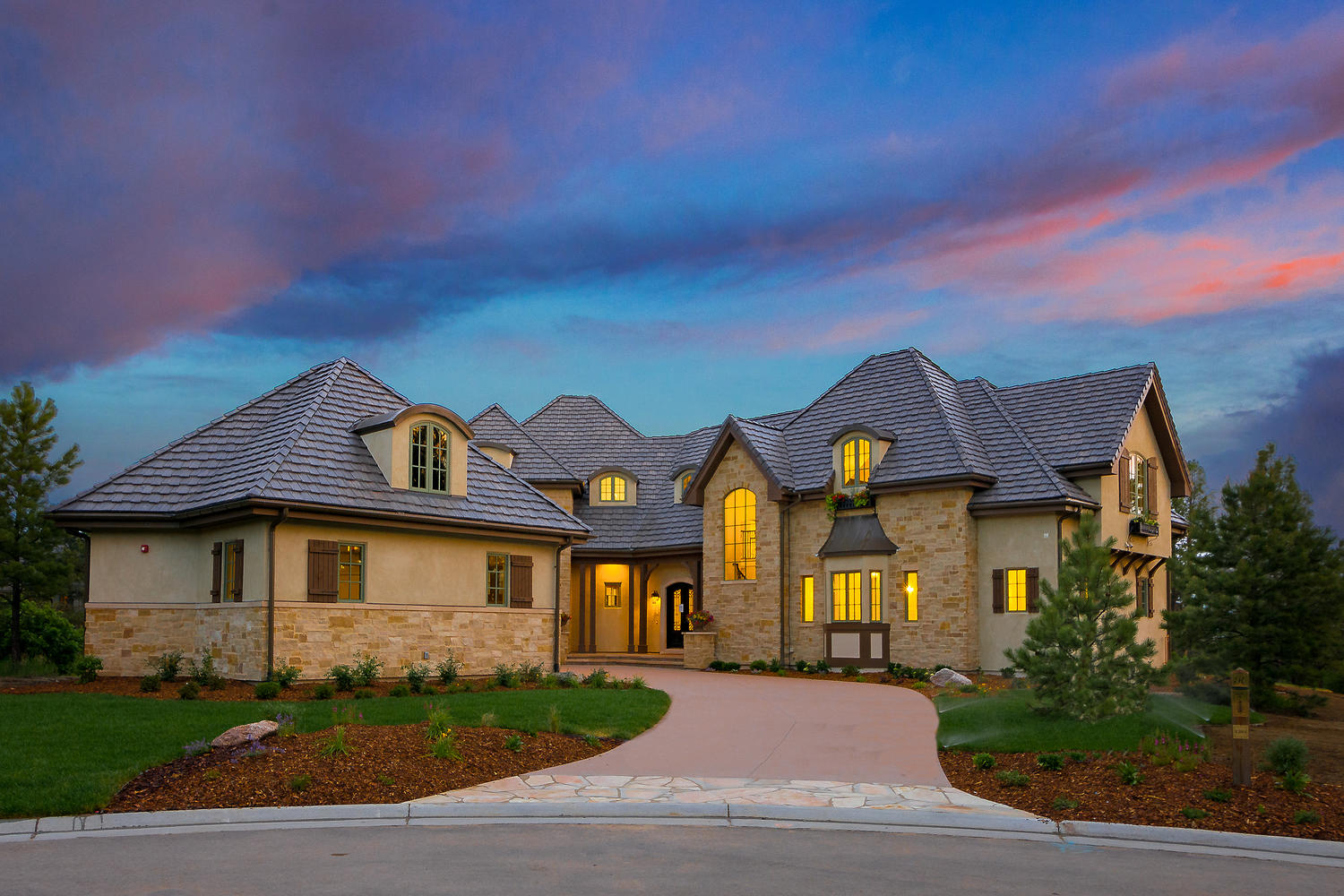 Single Family Home for Active at Castle Pines Village's Newest and Most Elegant Luxury Home 1202 Wildcat Bend Court Castle Rock, Colorado 80104 United States