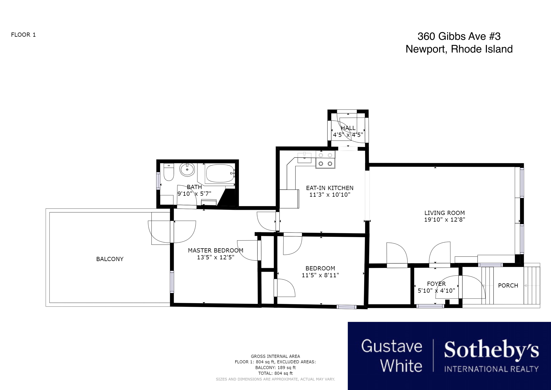 Condominiums for Sale at Daleswell Condominiums 360 Gibbs Avenue Unit #3 Newport, Rhode Island 02840 United States