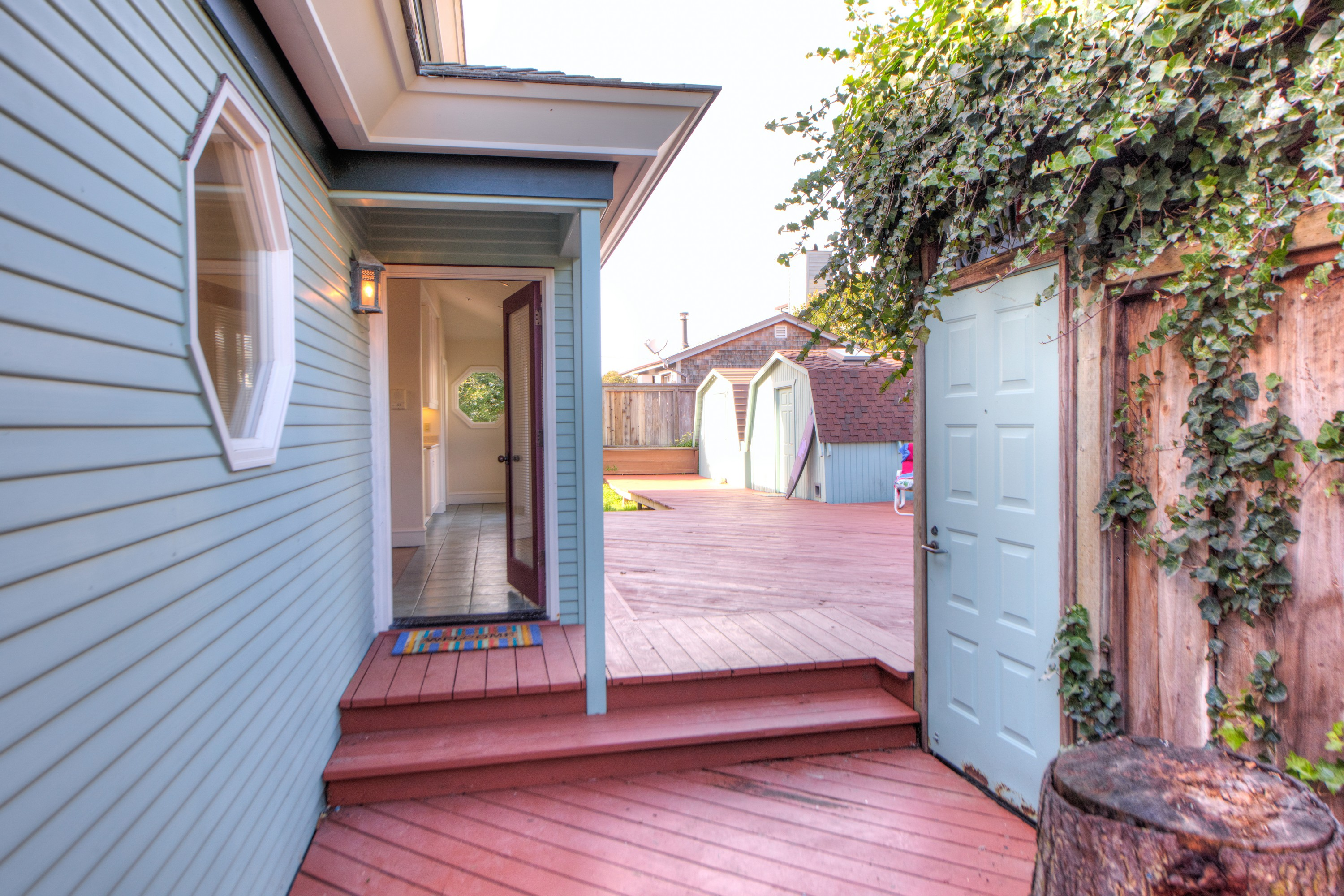 Single Family Home for Sale at Stinson Beach Custom Home Steps to Town 12 Calle Del Pradero Stinson Beach, California 94970 United States