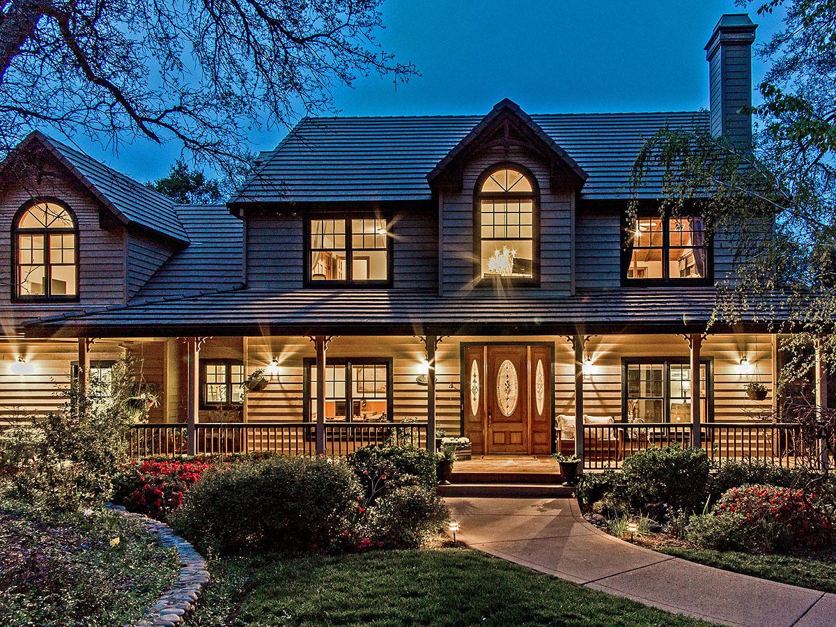 Single Family Home for Sale at Sonoma Style Farmhouse in Serrano 4024 Greenview Drive El Dorado Hills, California 95762 United States