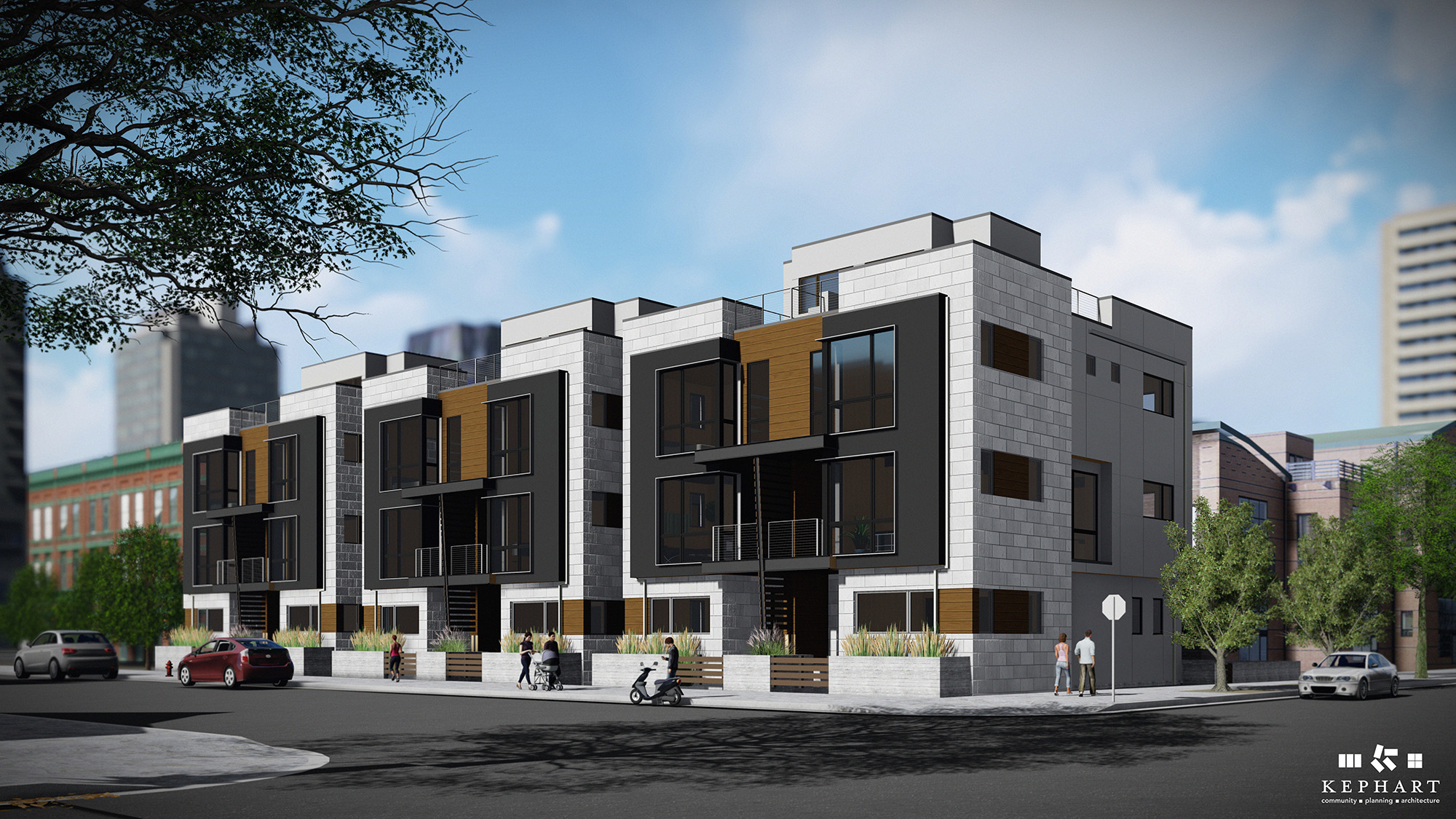 Townhouse for Active at True Luxury Living In Golden Triangle! 90 W 10th Ave Denver, Colorado 80204 United States
