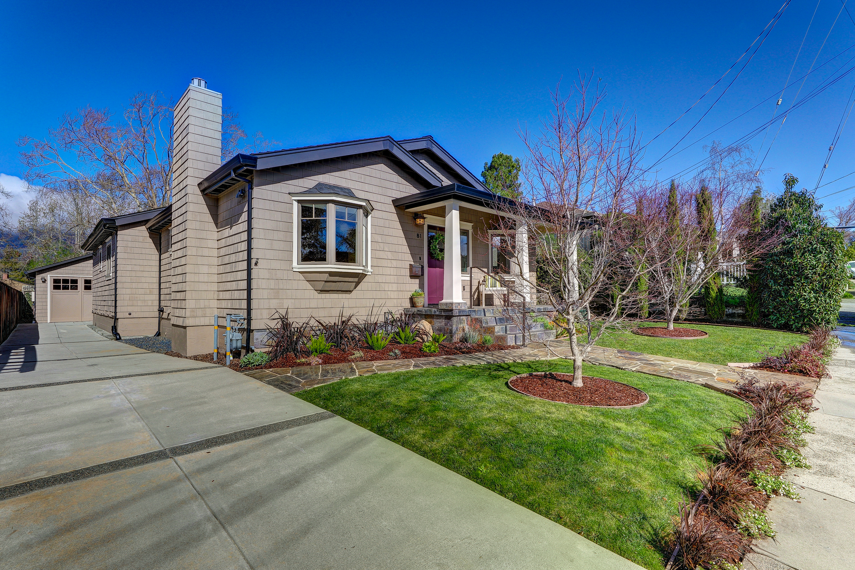 Single Family Home for Sale at Sought-After Sycamore Park 81 Ryan Avenue Mill Valley, California 94941 United States