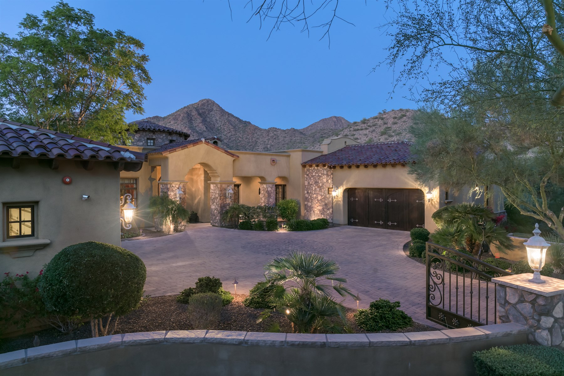 sales property at Breathtaking Scottsdale property with mountain views
