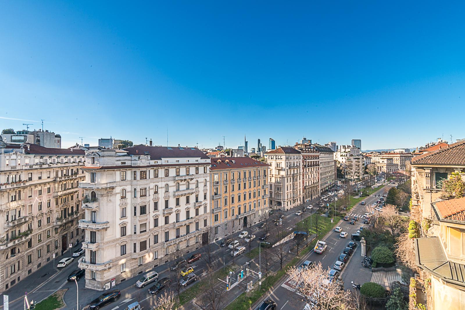 Apartment for Sale at Majestic penthouse with views of Milan Viale Luigi Majno Milano, Milan, 20129 Italy