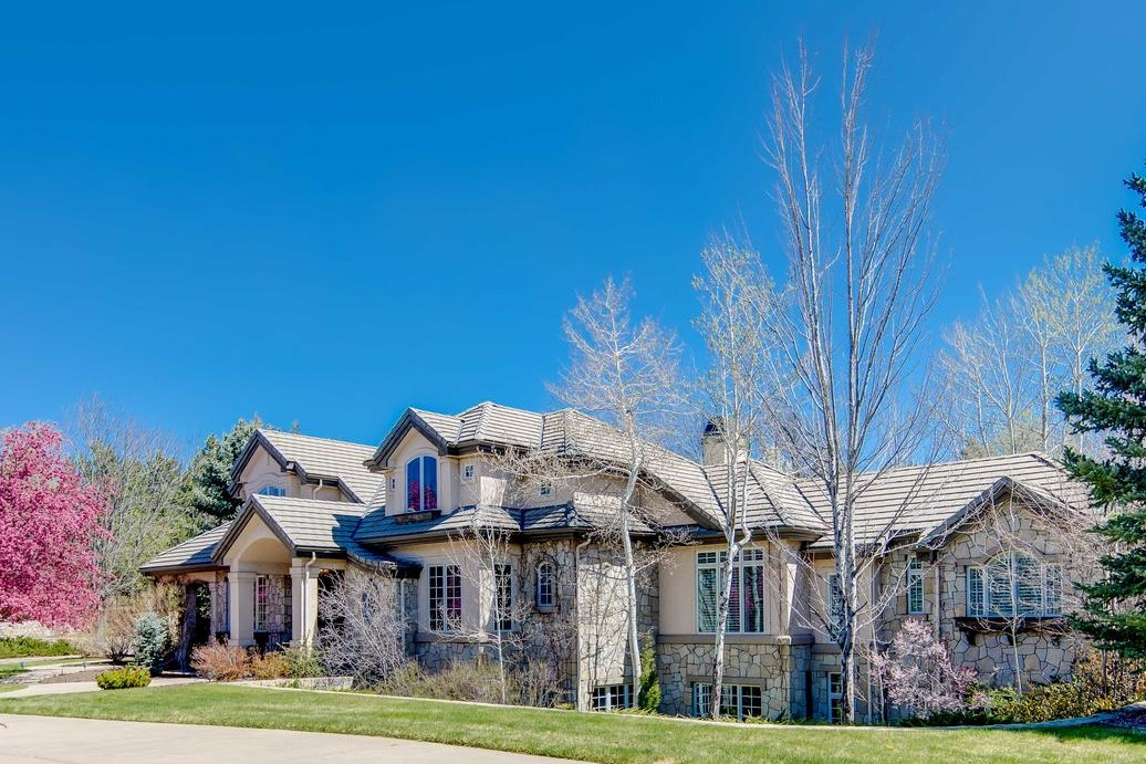 Single Family Home for Active at Beautiful Home with Designer Finishes and Amazing Architectural Detail 6 Churchill Drive Cherry Hills Village, Colorado 80113 United States