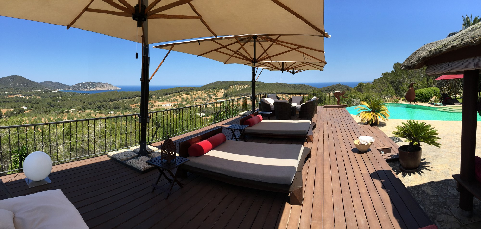 واحد منزل الأسرة للـ Sale في Rustic Villa With Country And Sea views 07800 Other Countries